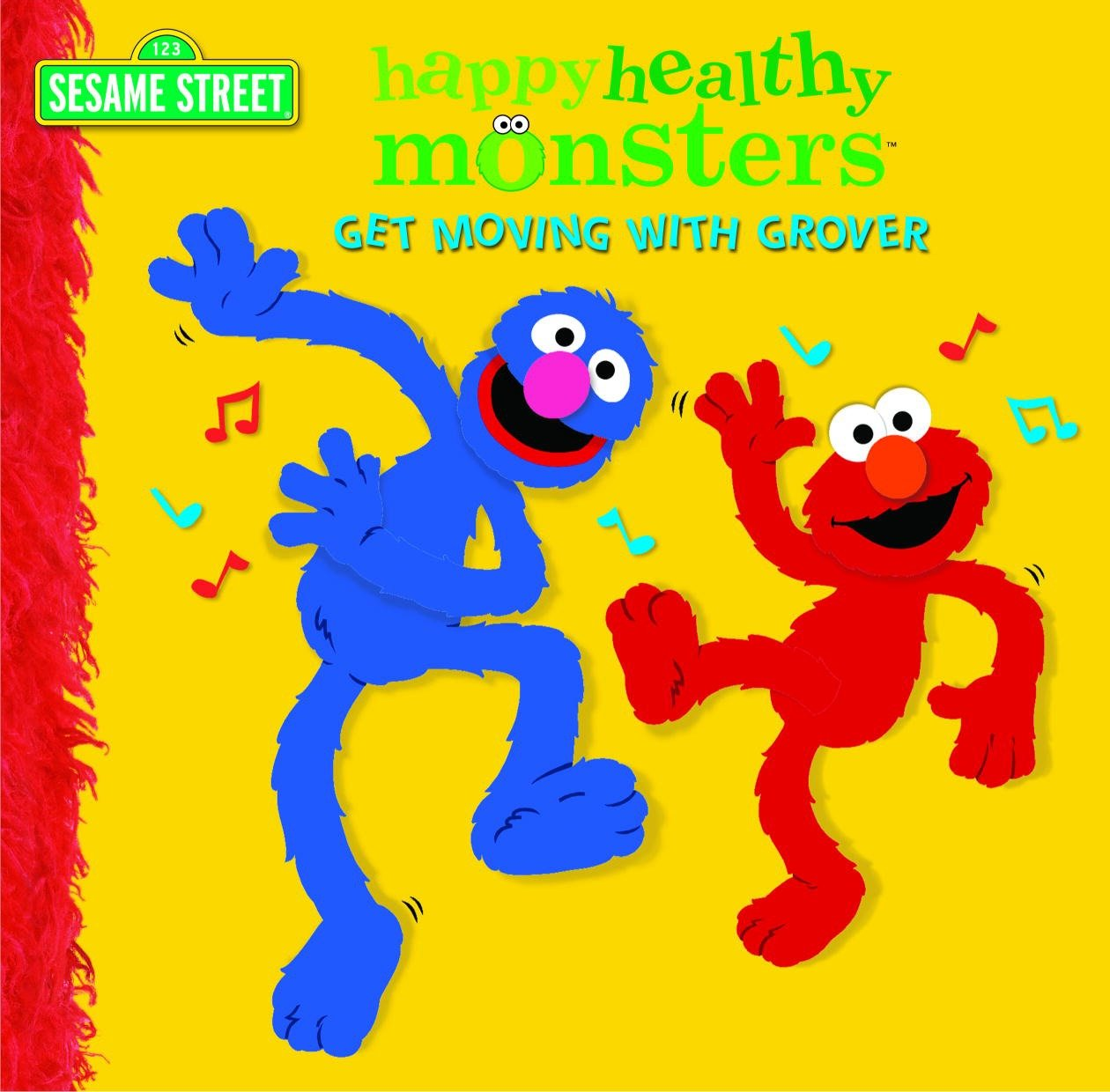 Happy healthy monsters get moving with Grover