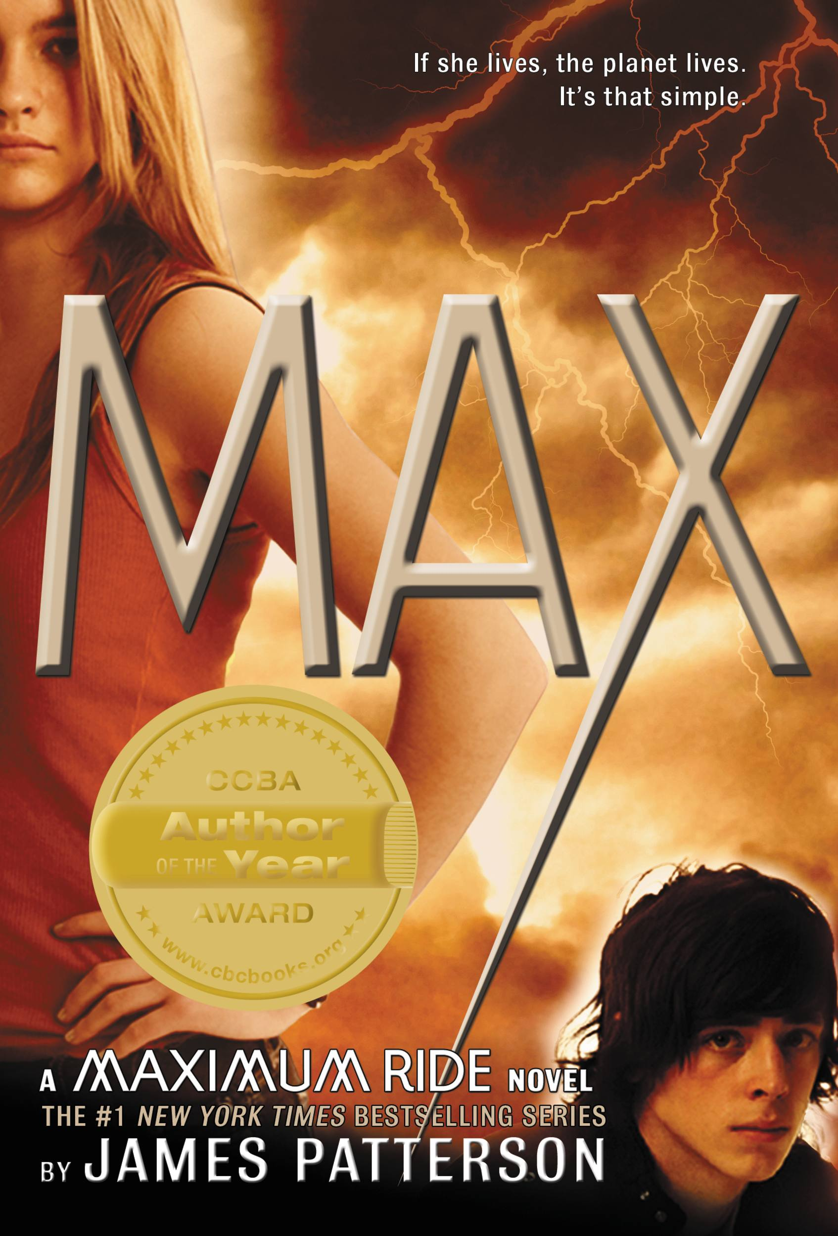 Max A Maximum Ride Novel
