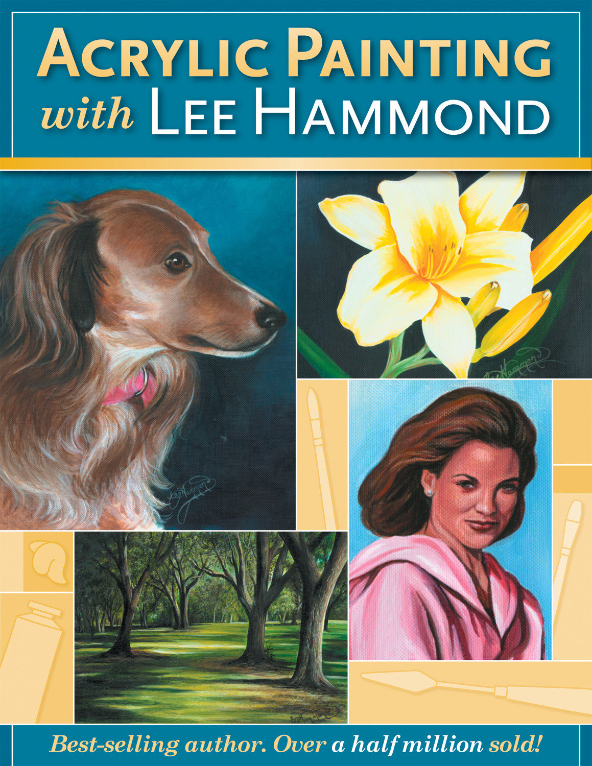 Cover image for Acrylic Painting With Lee Hammond [electronic resource] :