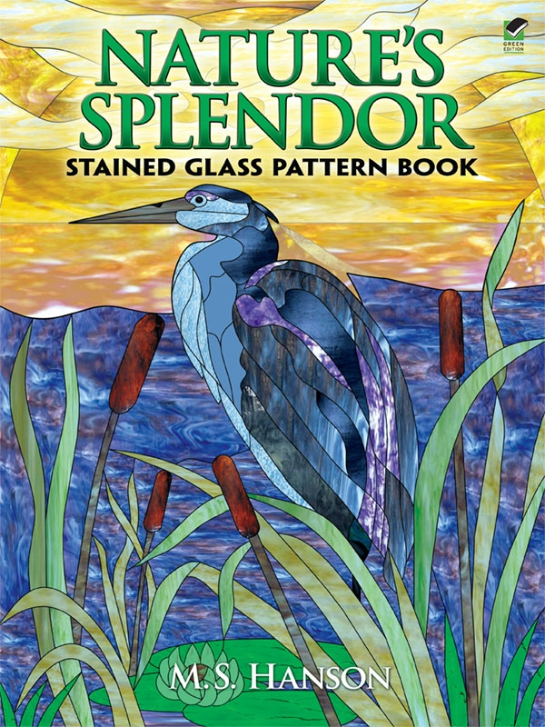 Nature's Splendor Stained Glass Pattern Book