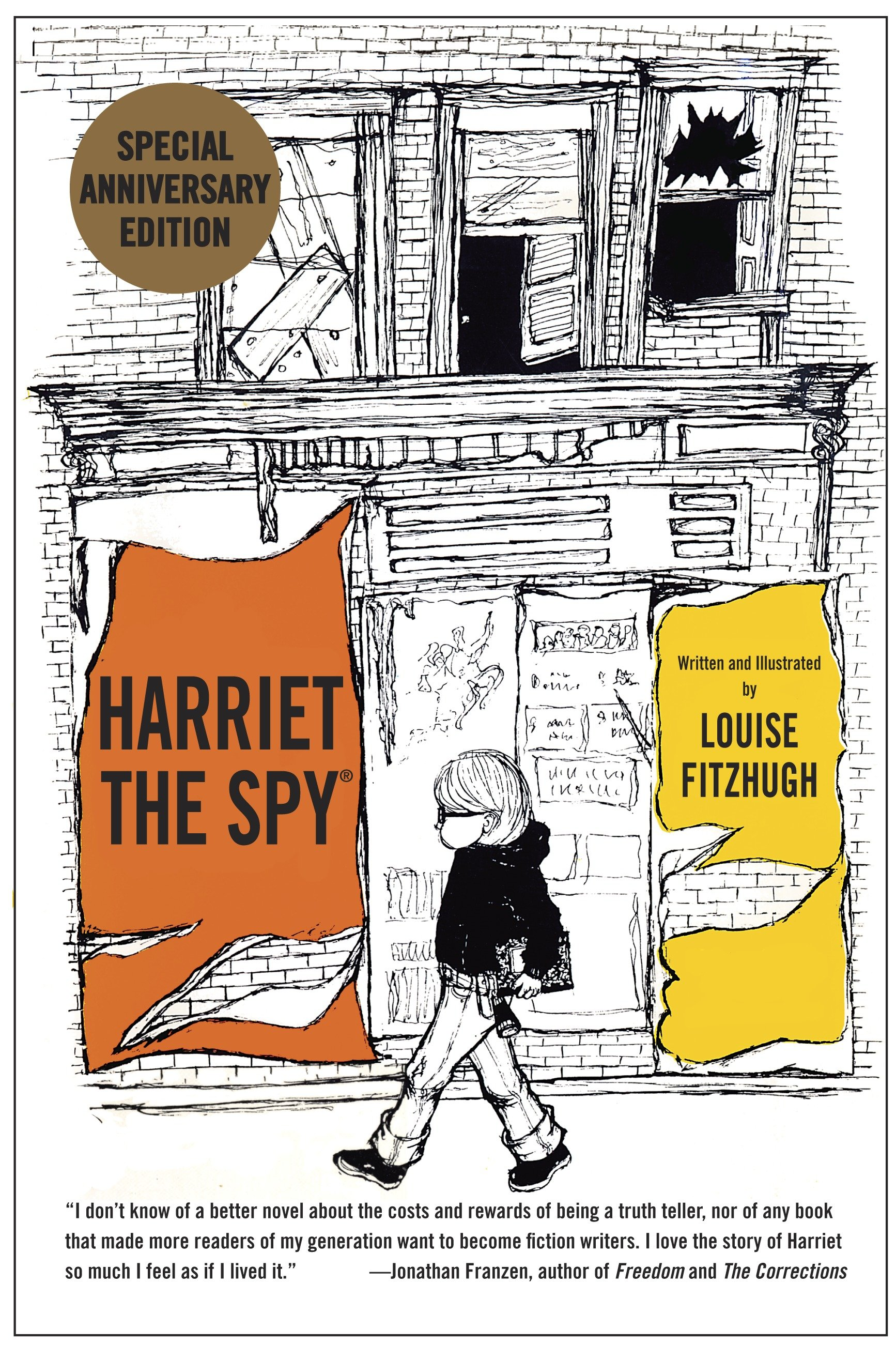 Cover image for Harriet the Spy: 50th Anniversary Edition [electronic resource] :