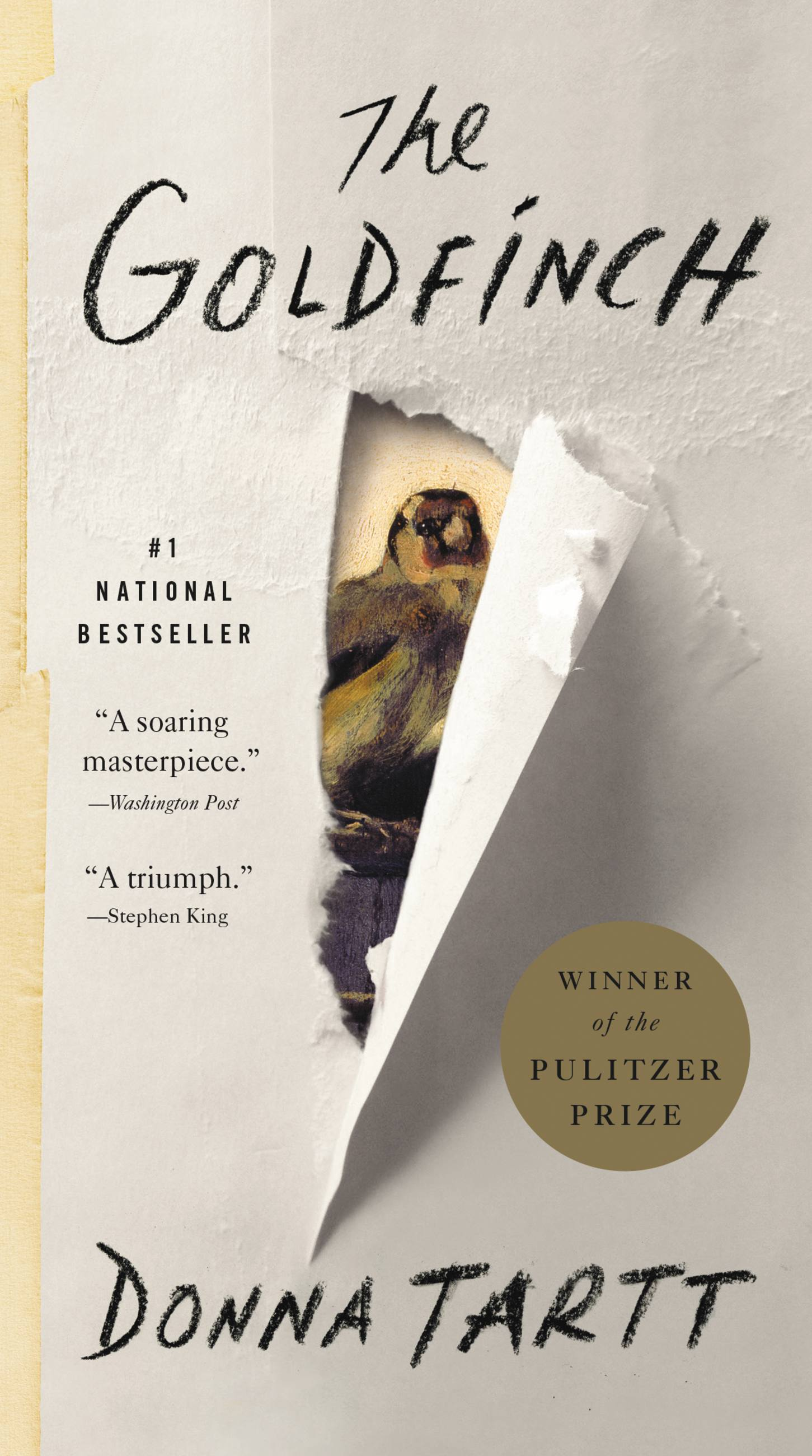 The Goldfinch A Novel (Pulitzer Prize for Fiction)