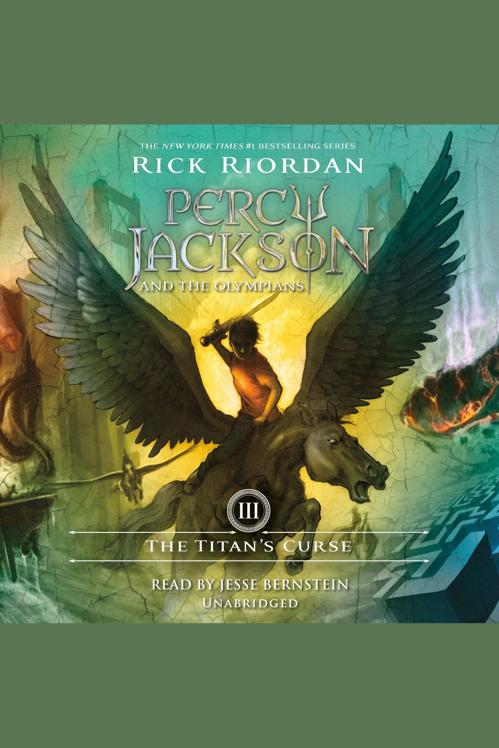 Titan's Curse, The Percy Jackson and the Olympians: Book 3