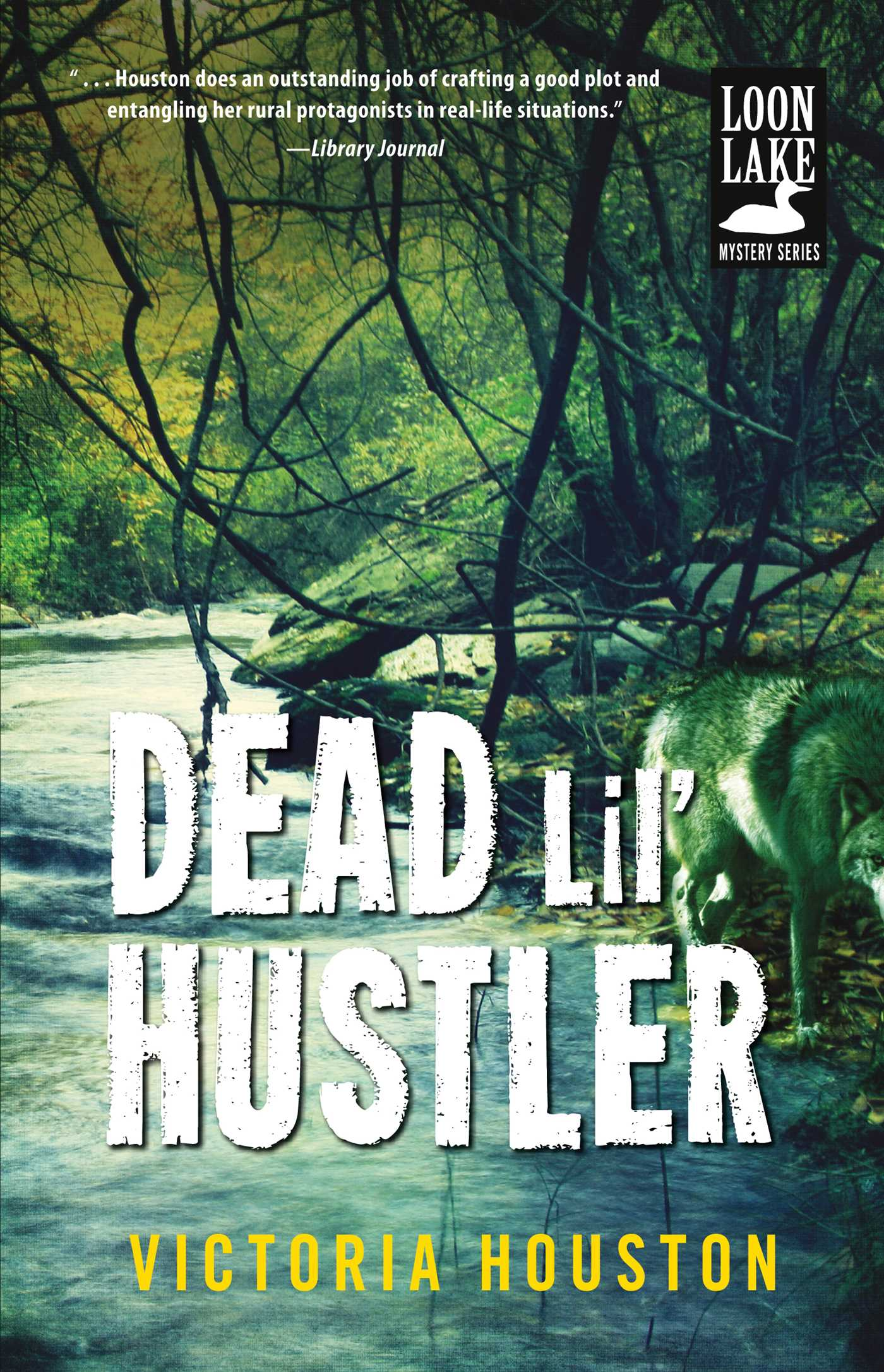 Cover image for Dead Lil' Hustler [electronic resource] : A Loon Lake Mystery