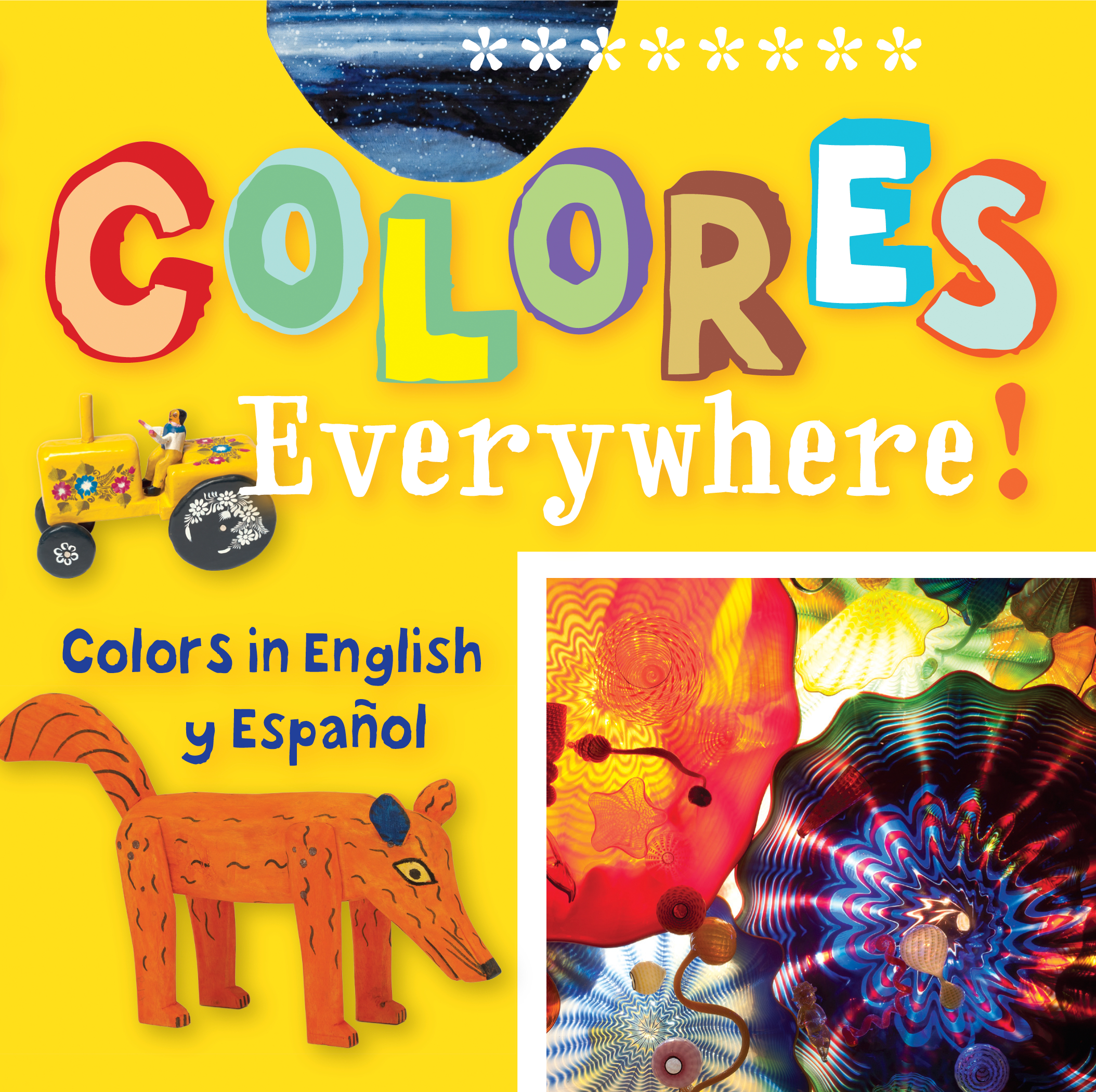 Colores Everywhere! Colors in English and Spanish