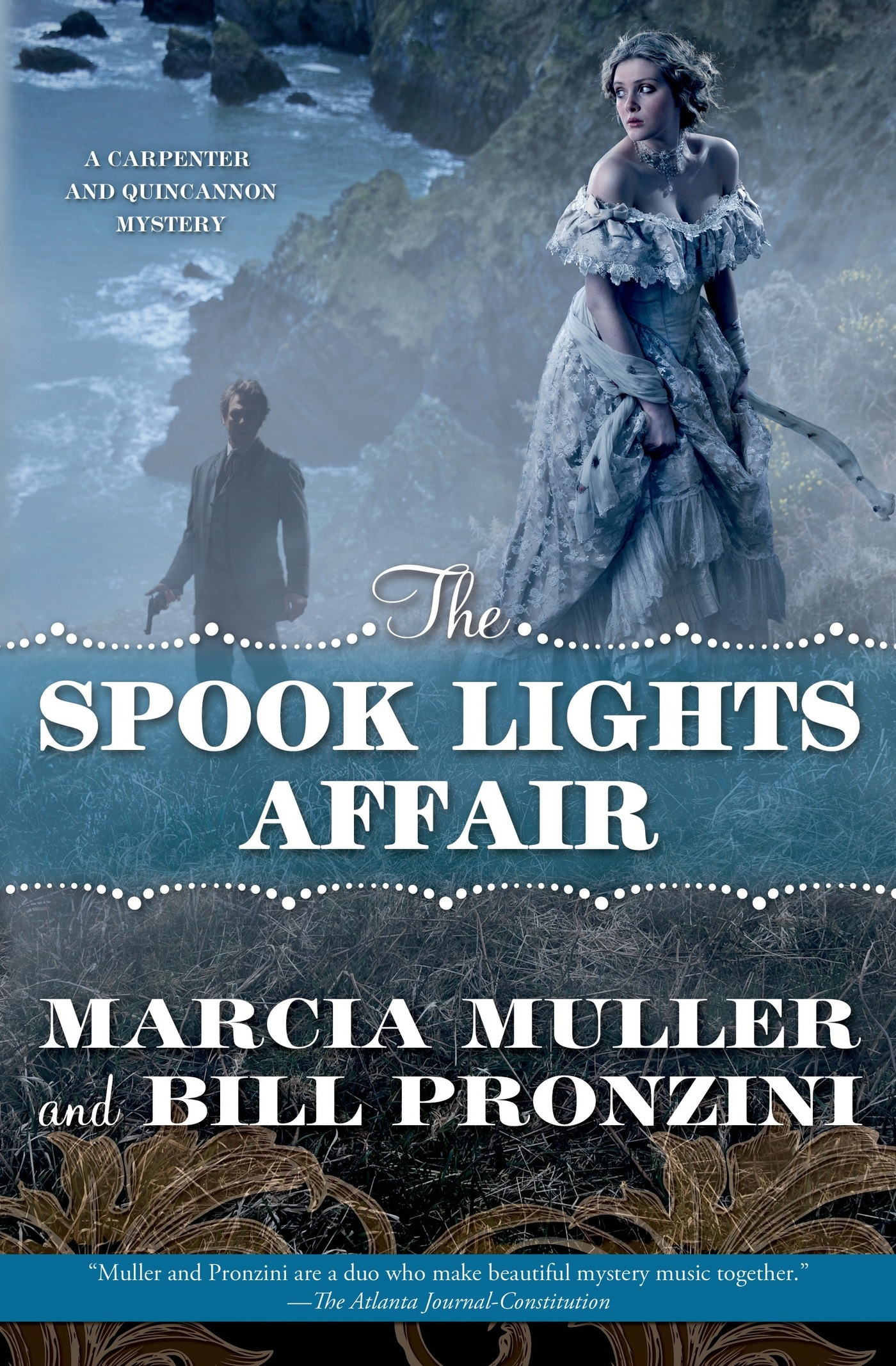 The Spook Lights Affair A Carpenter and Quincannon Mystery