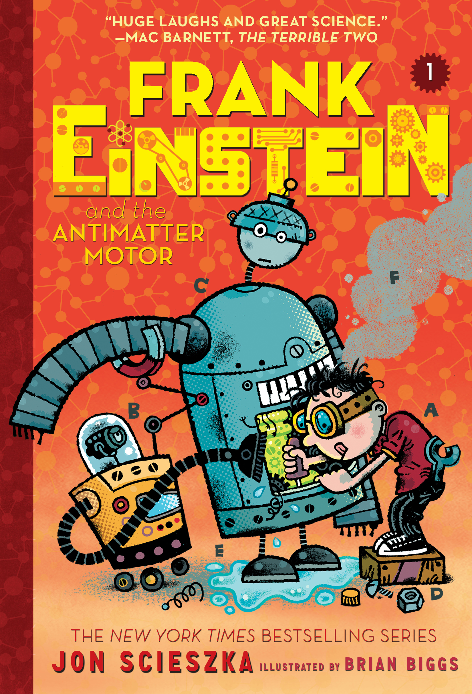 Frank Einstein and the Antimatter Motor (Frank Einstein series #1) [electronic resource] : Book One