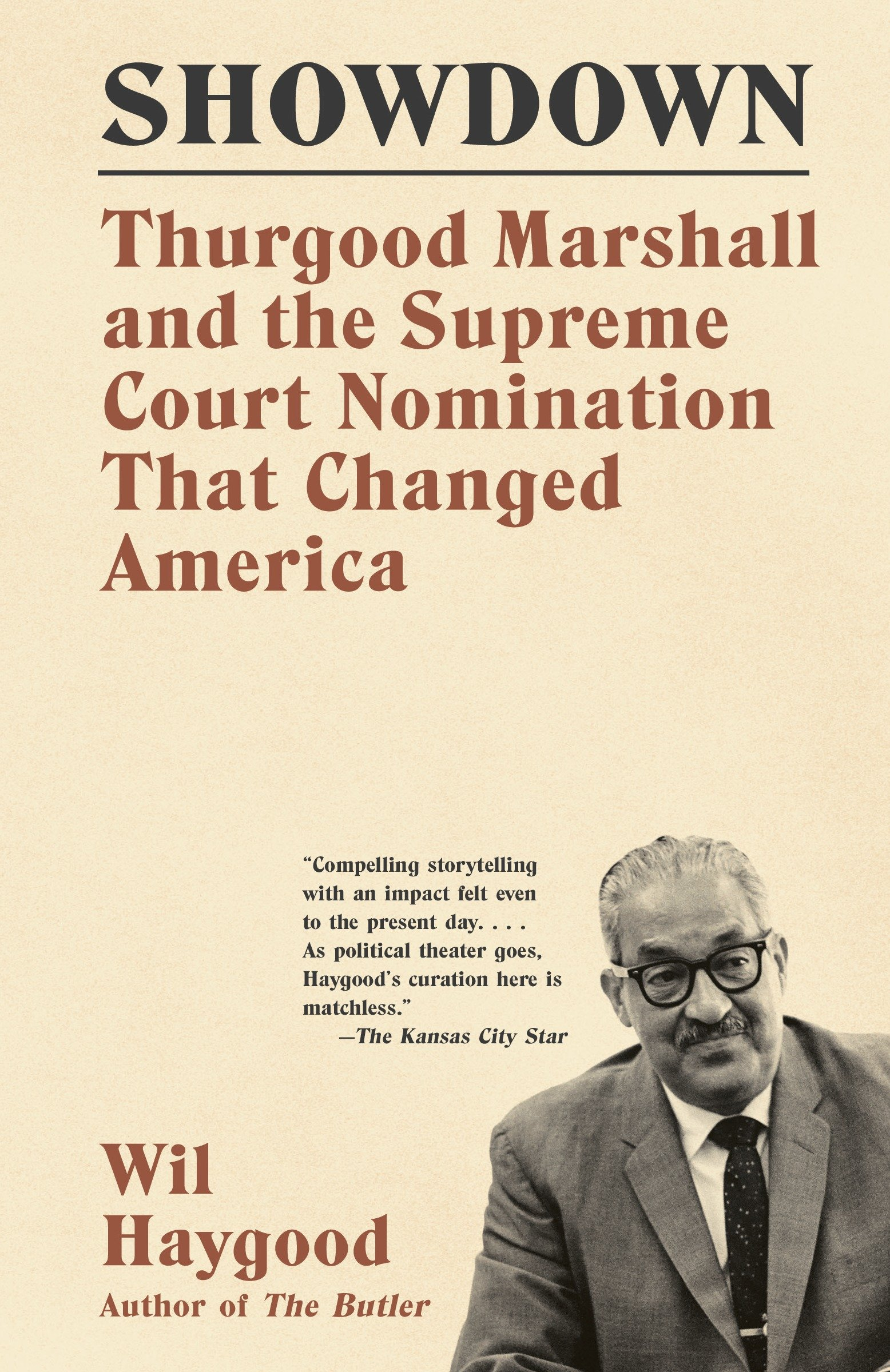 Cover image for Showdown [electronic resource] : Thurgood Marshall and the Supreme Court Nomination That Changed America