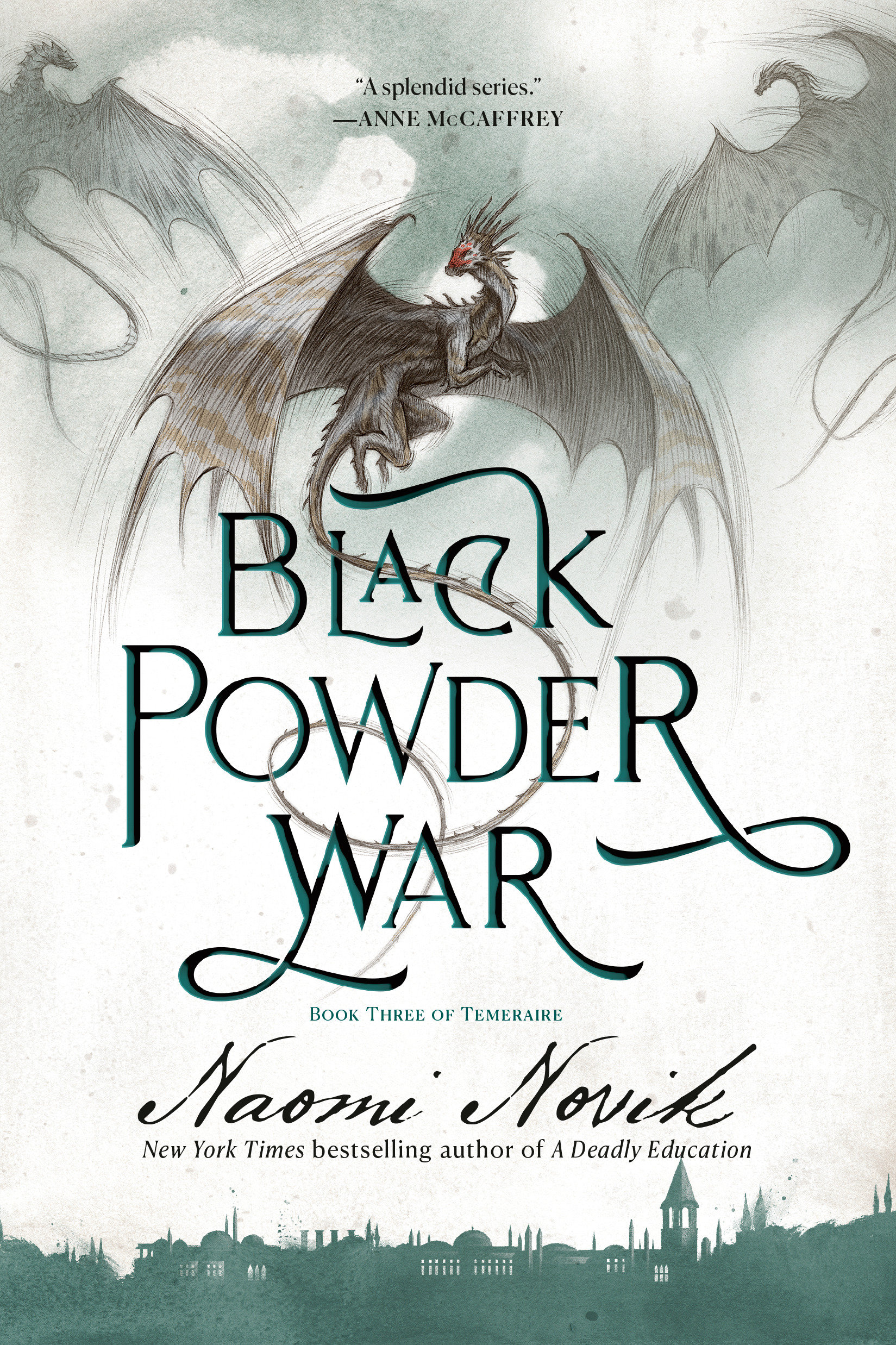 Black Powder War A Novel of Temeraire