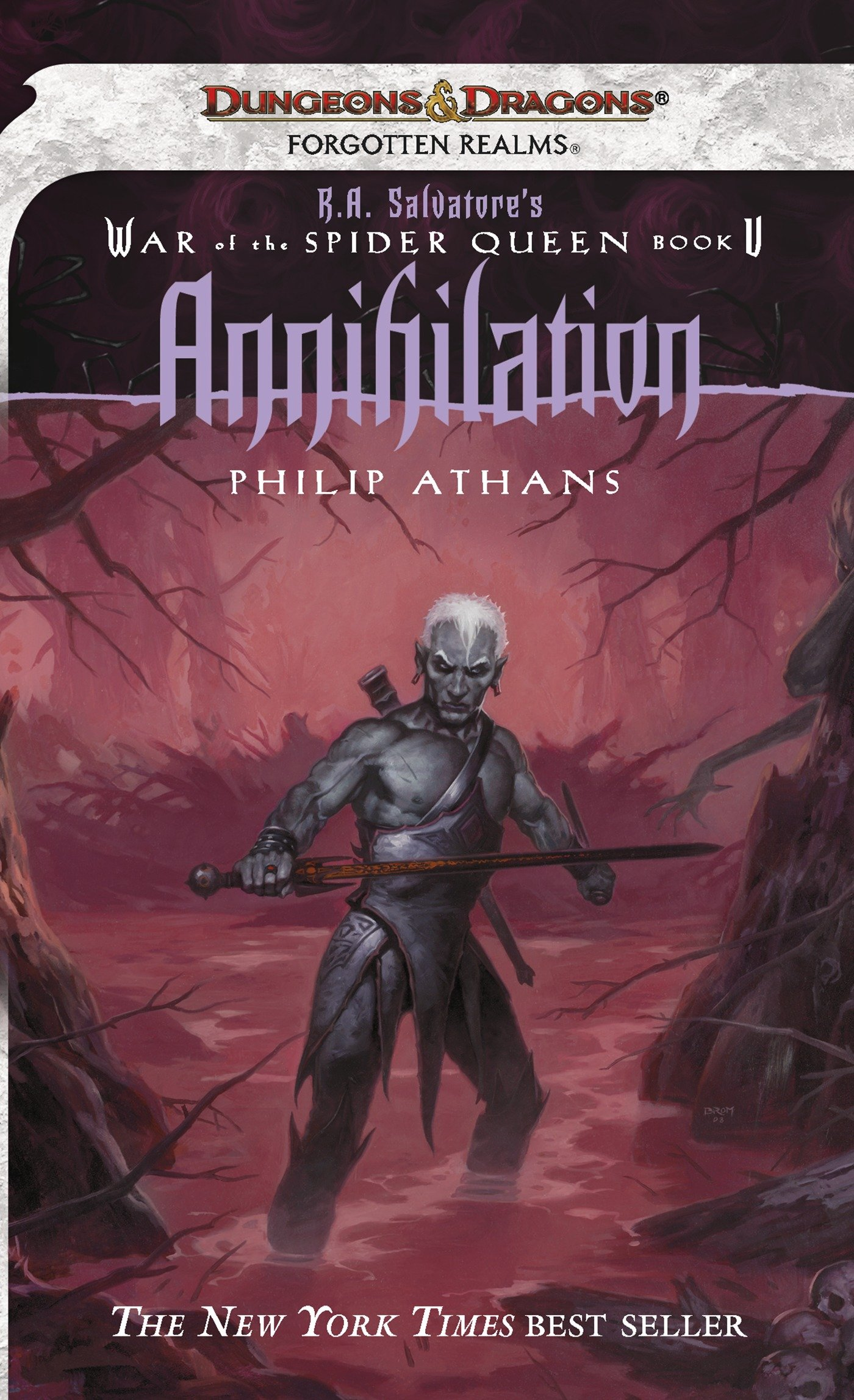 Annihilation R.A. Salvatore Presents The War of the Spider Queen, Book V