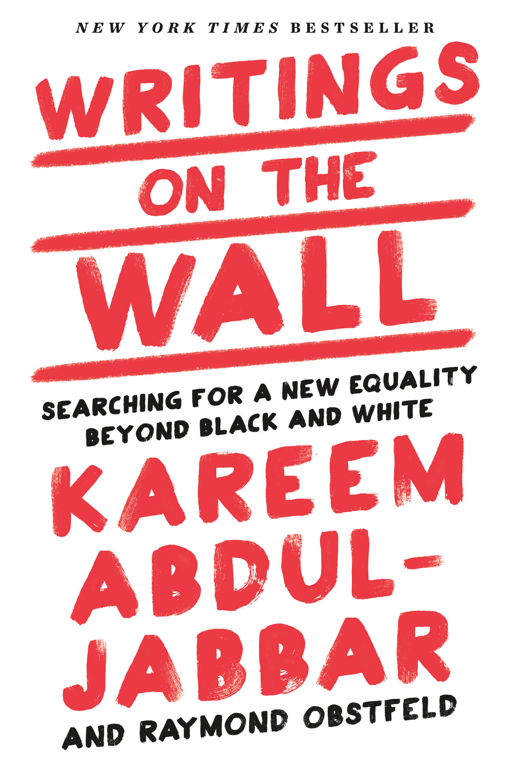 Writings on the wall searching for a new equality beyond black and white