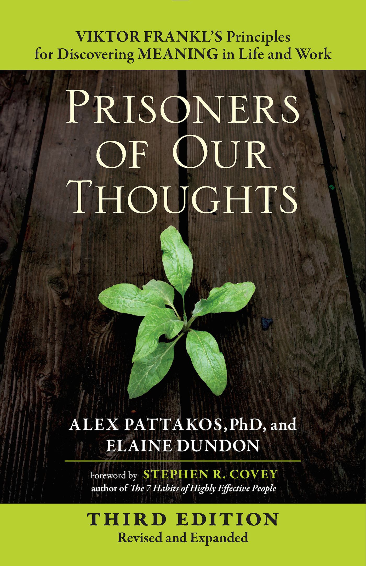 Prisoners of Our Thoughts [electronic resource] : Viktor Frankl's Principles for Discovering Meaning in Life and Work
