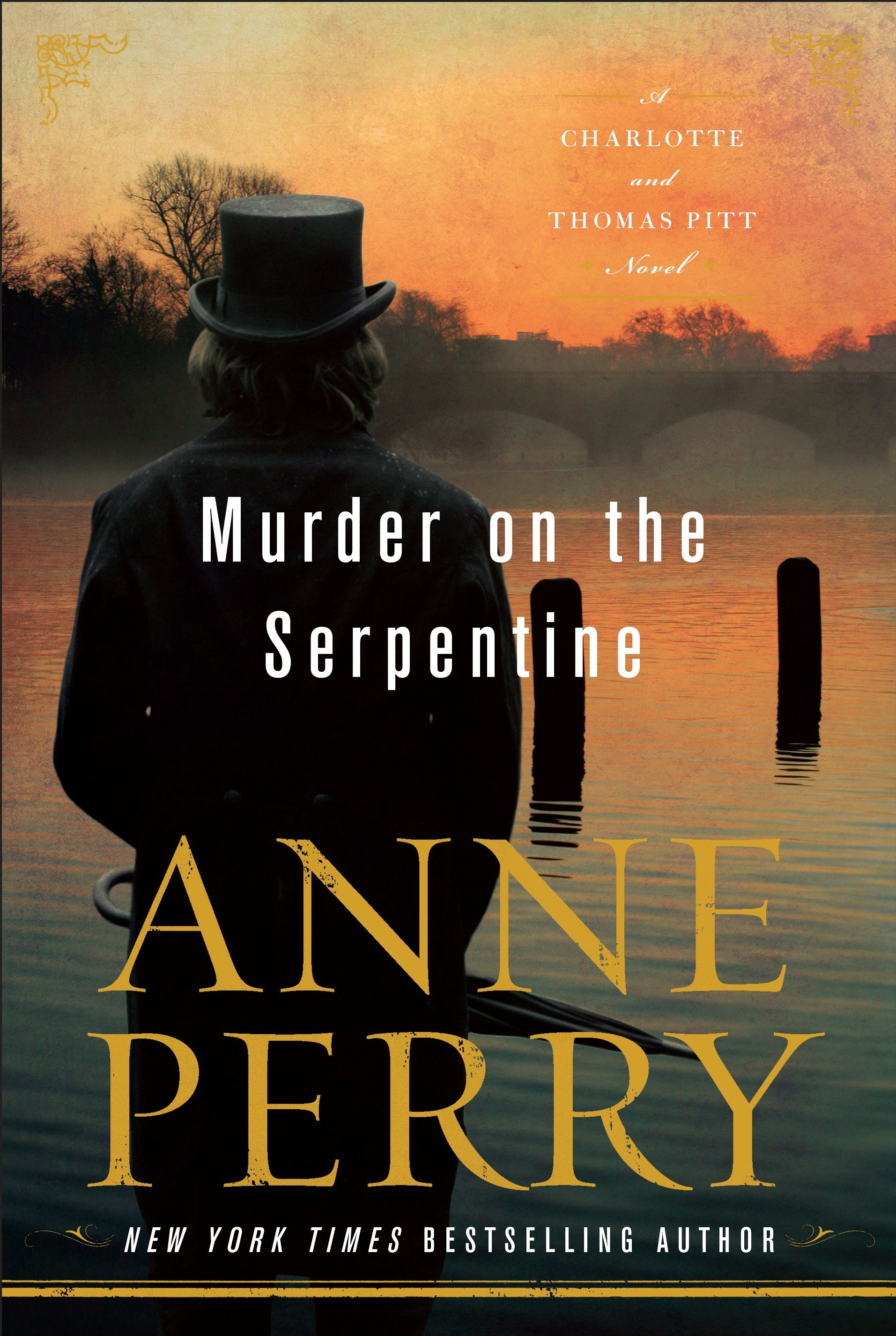 Murder on the Serpentine A Charlotte and Thomas Pitt Novel