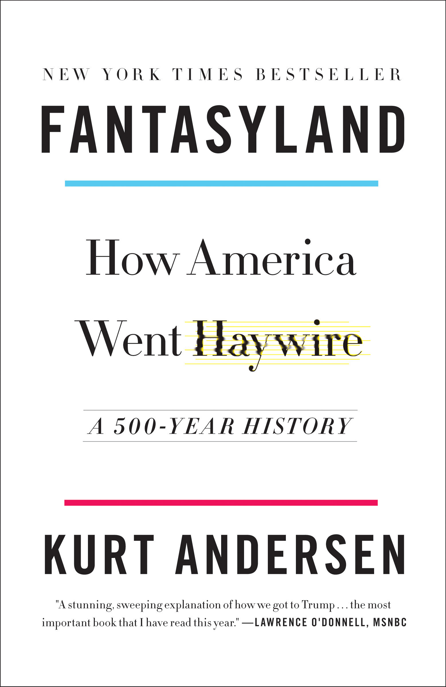 Fantasyland how America went haywire : a 500-year history