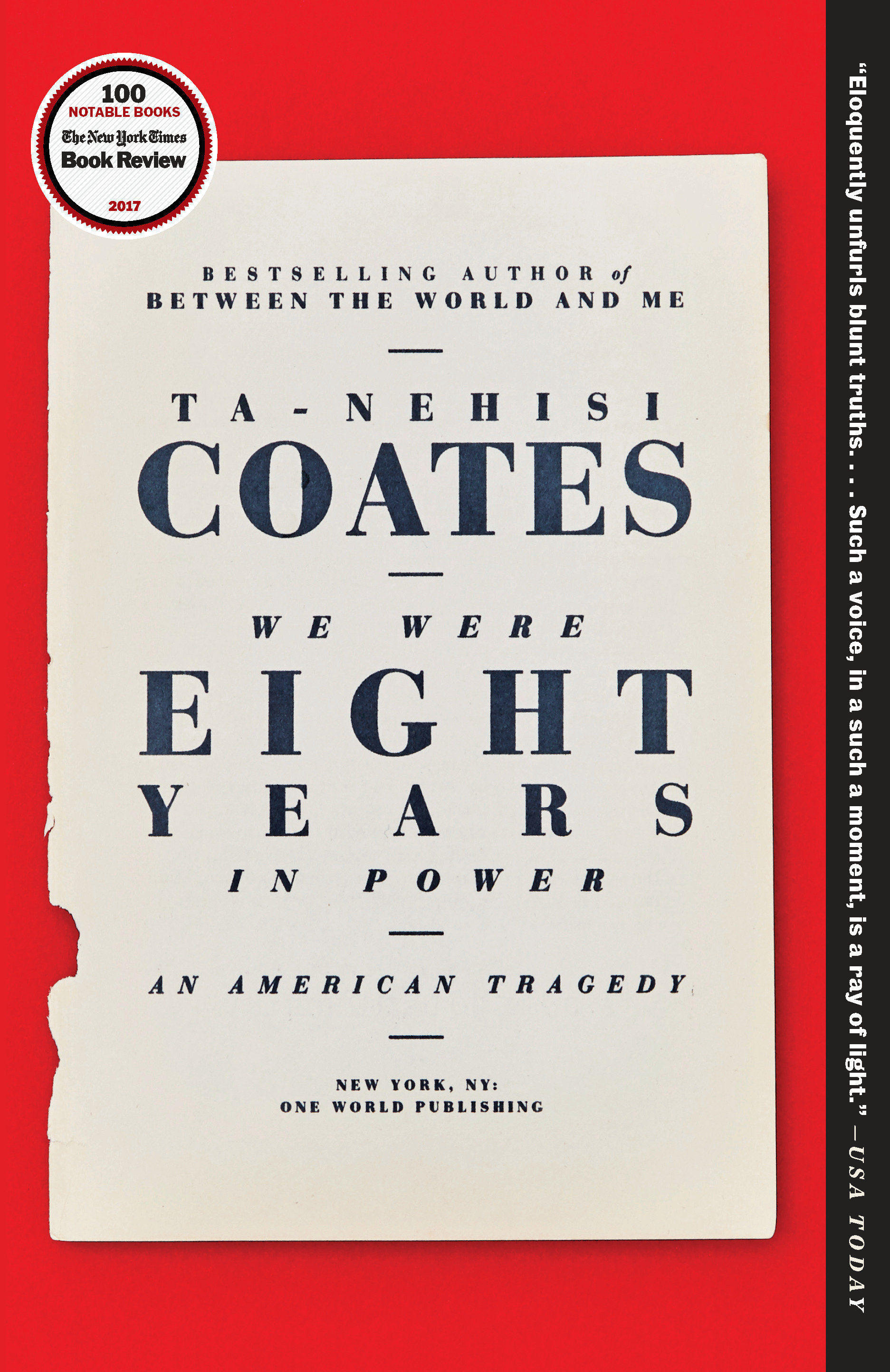 We Were Eight Years in Power [EBOOK] An American Tragedy