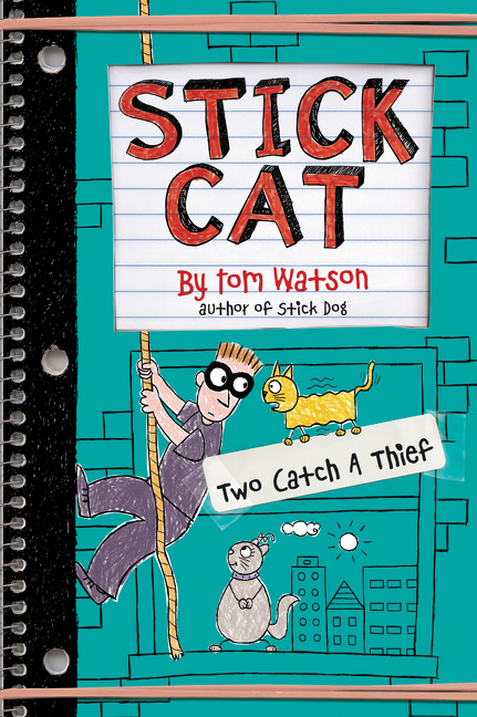 Cover image for Stick Cat: Two Catch a Thief [electronic resource] :