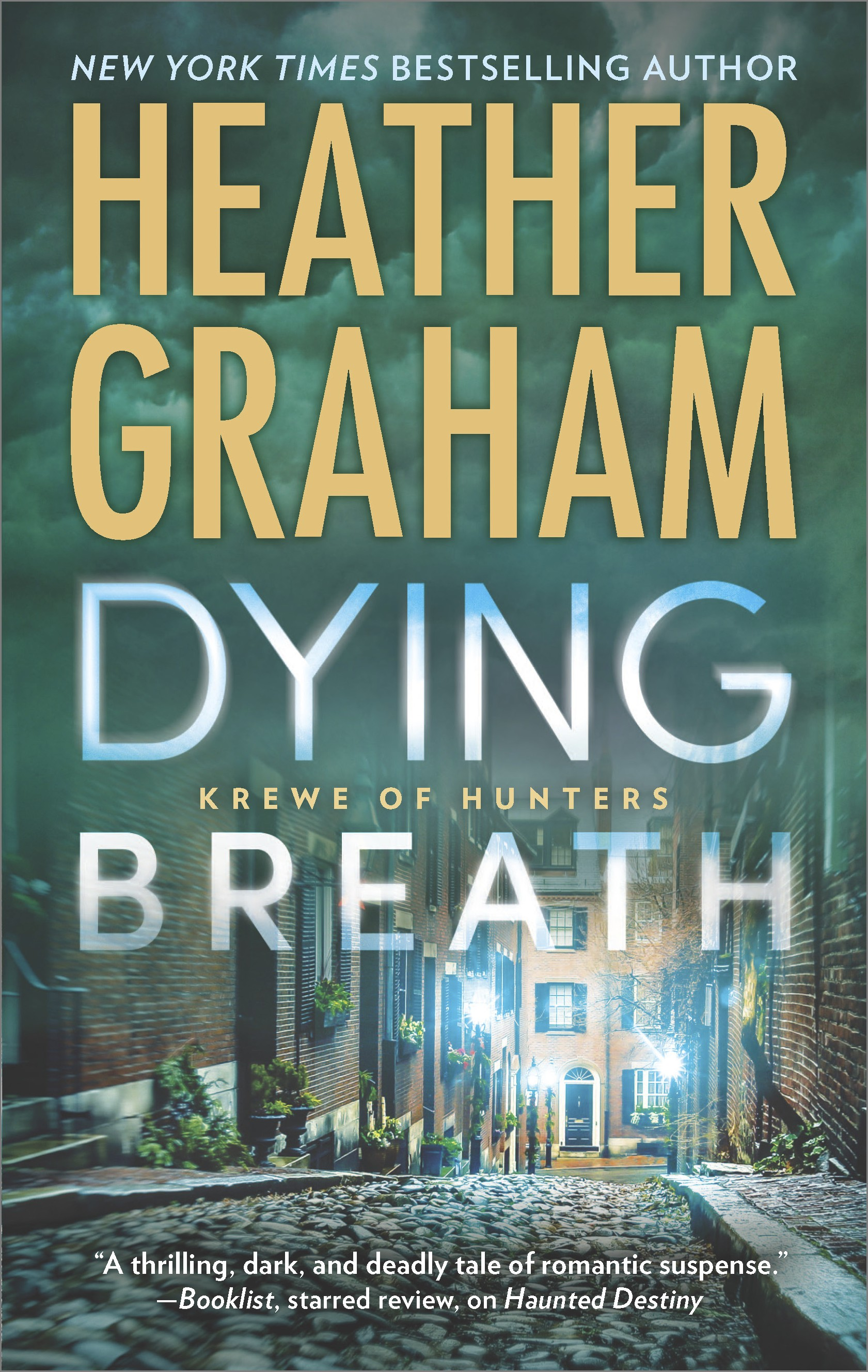 Dying Breath A Heart-Stopping Novel of Paranormal Romantic Suspense