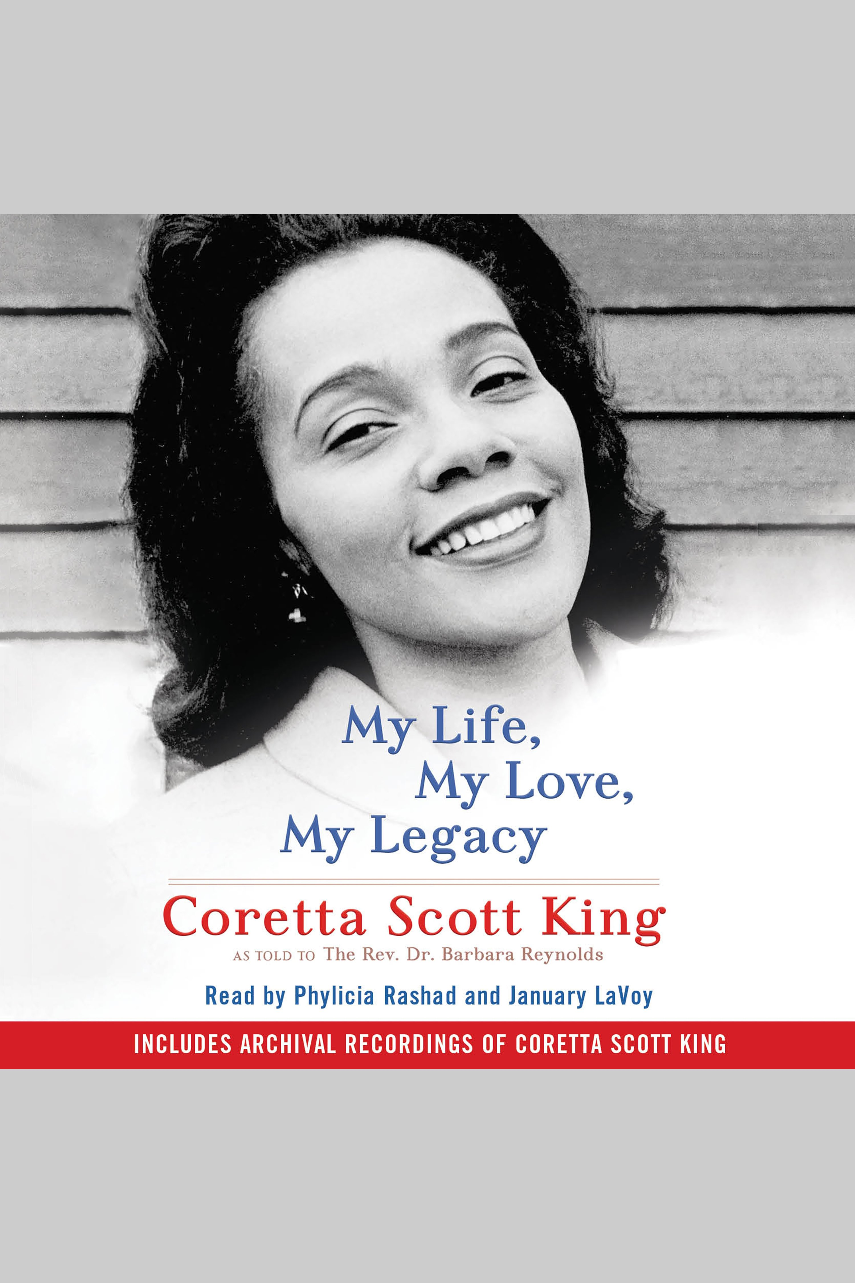 My life, my love, my legacy [AudioEbook]