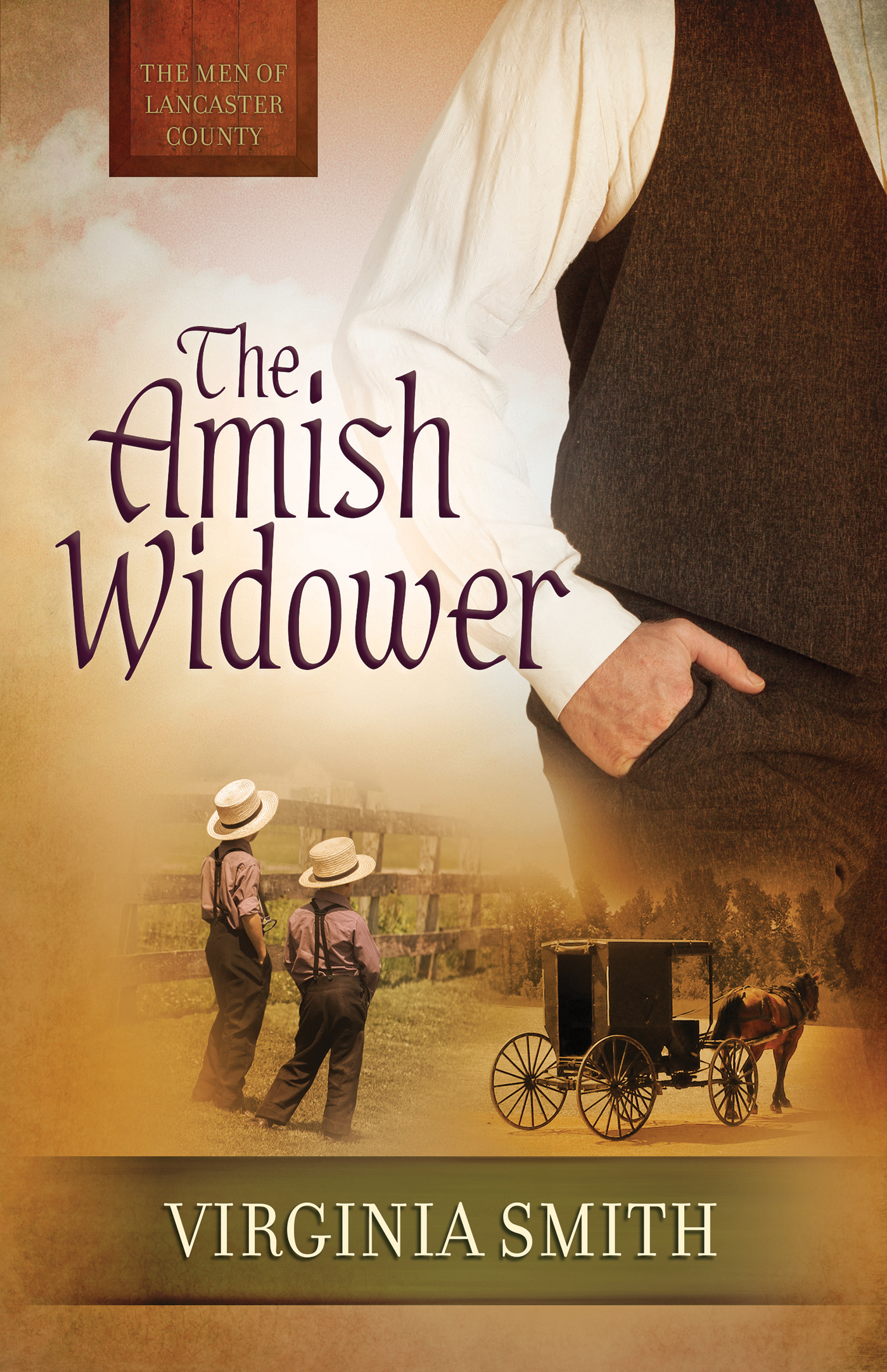 Cover image for The Amish Widower [electronic resource] :