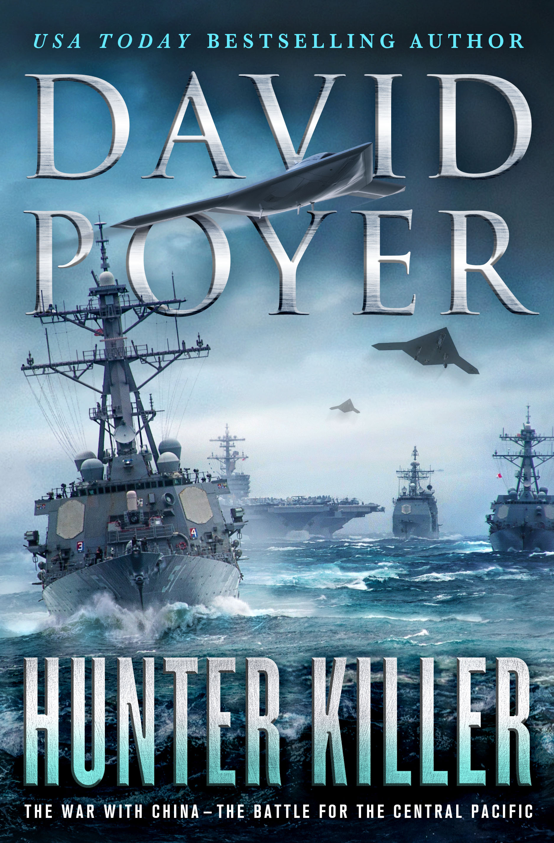 Hunter Killer The War with China - The Battle for the Central Pacific