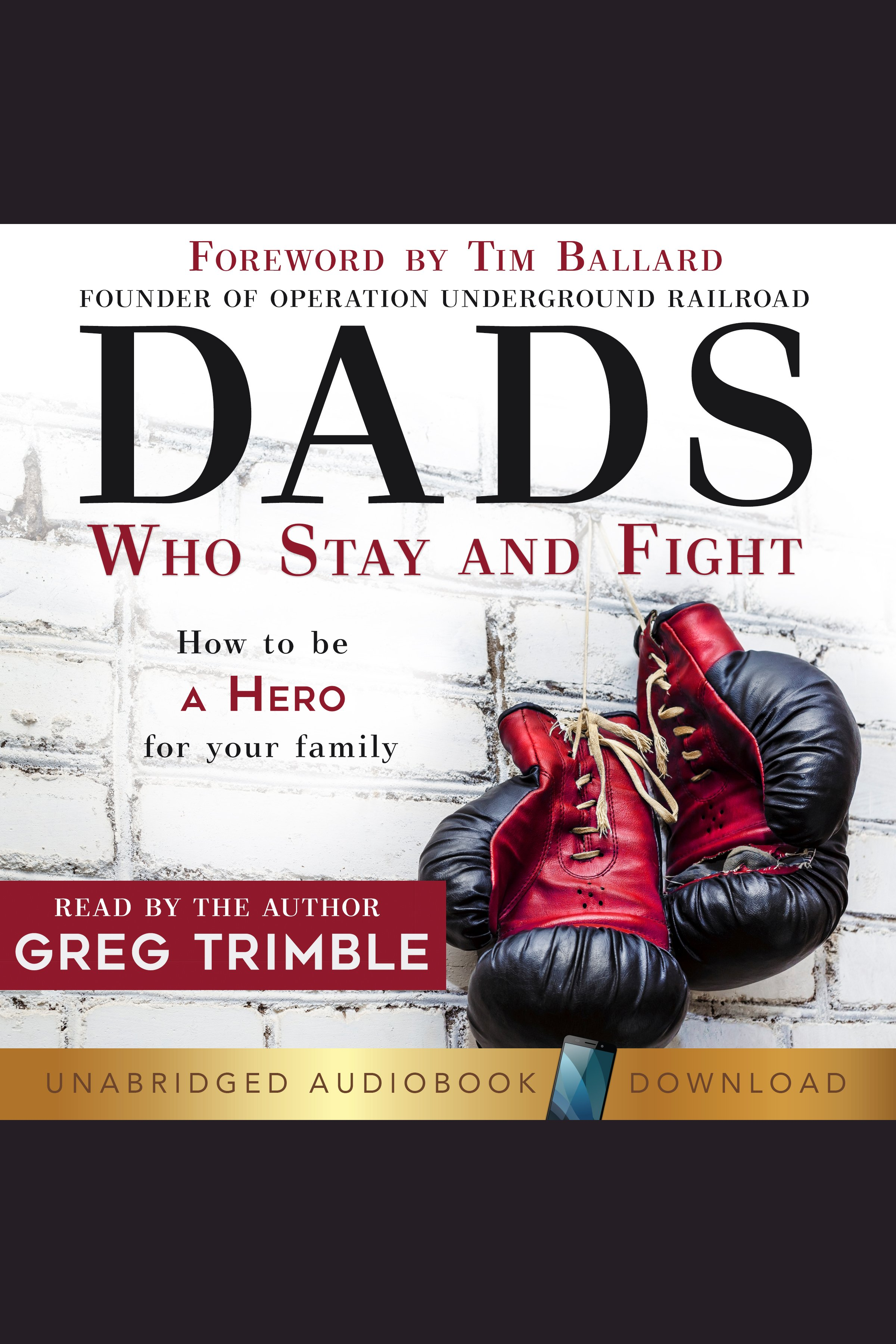 Dads Who Stay and Fight How to Be a Hero for Your Family