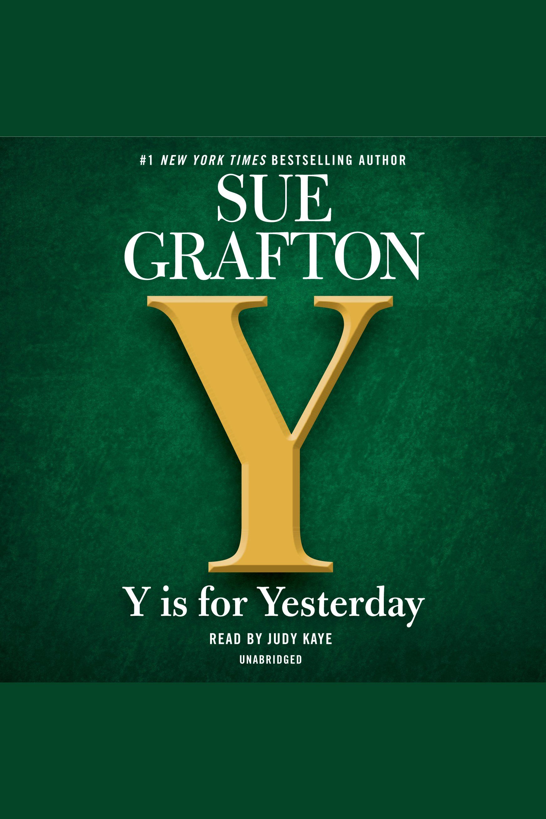 Y is for Yesterday [EAUDIOBOOK]