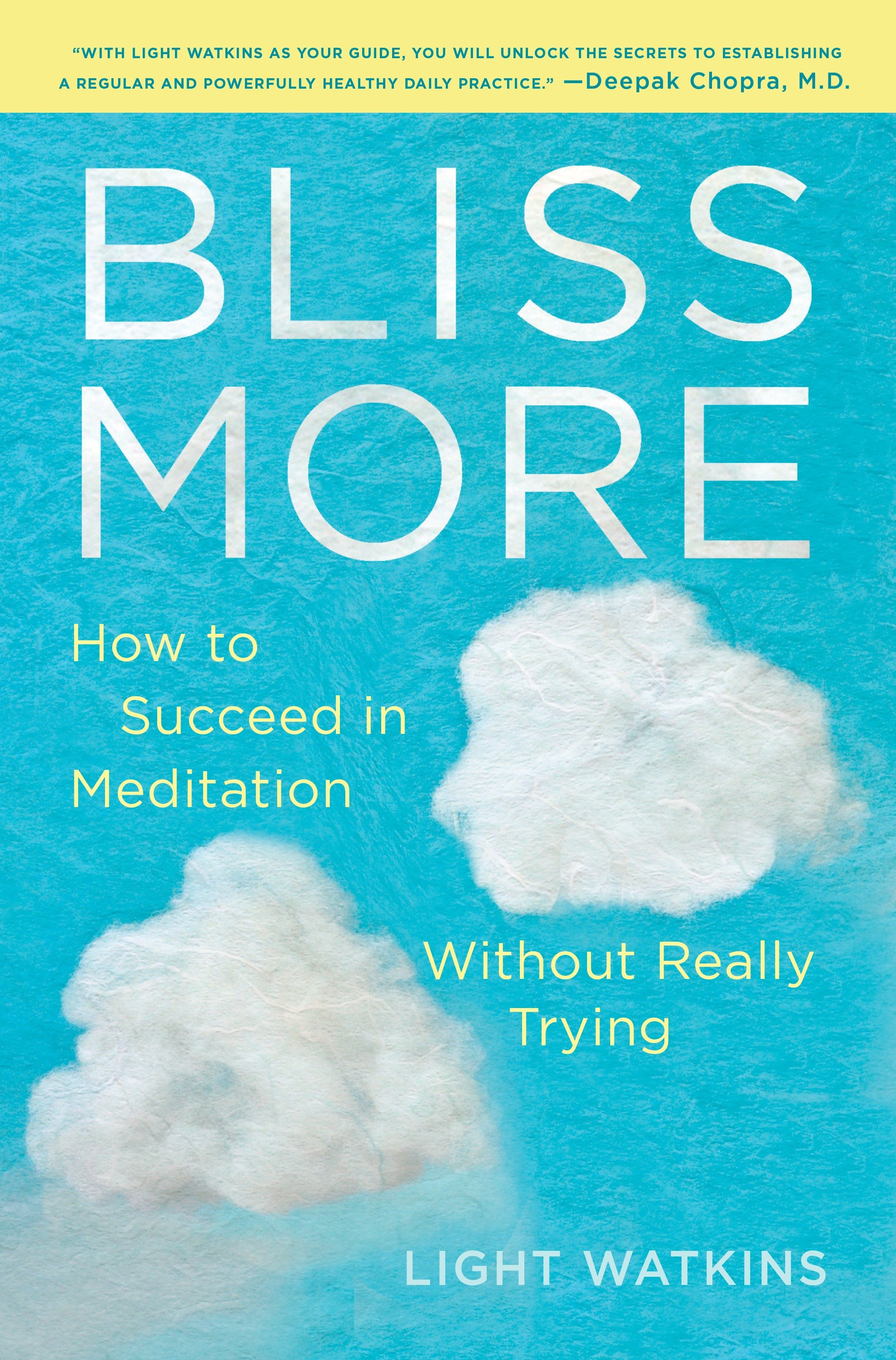 Bliss More How to Succeed in Meditation Without Really Trying