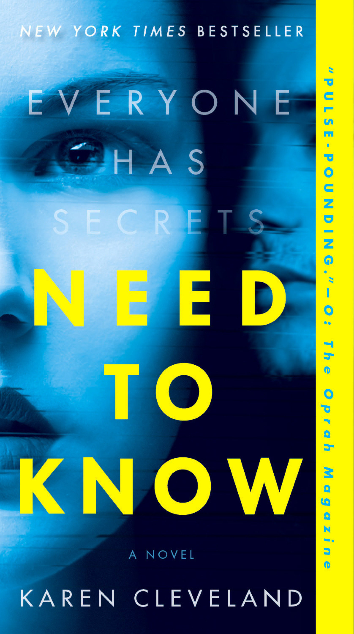 Need to Know A Novel