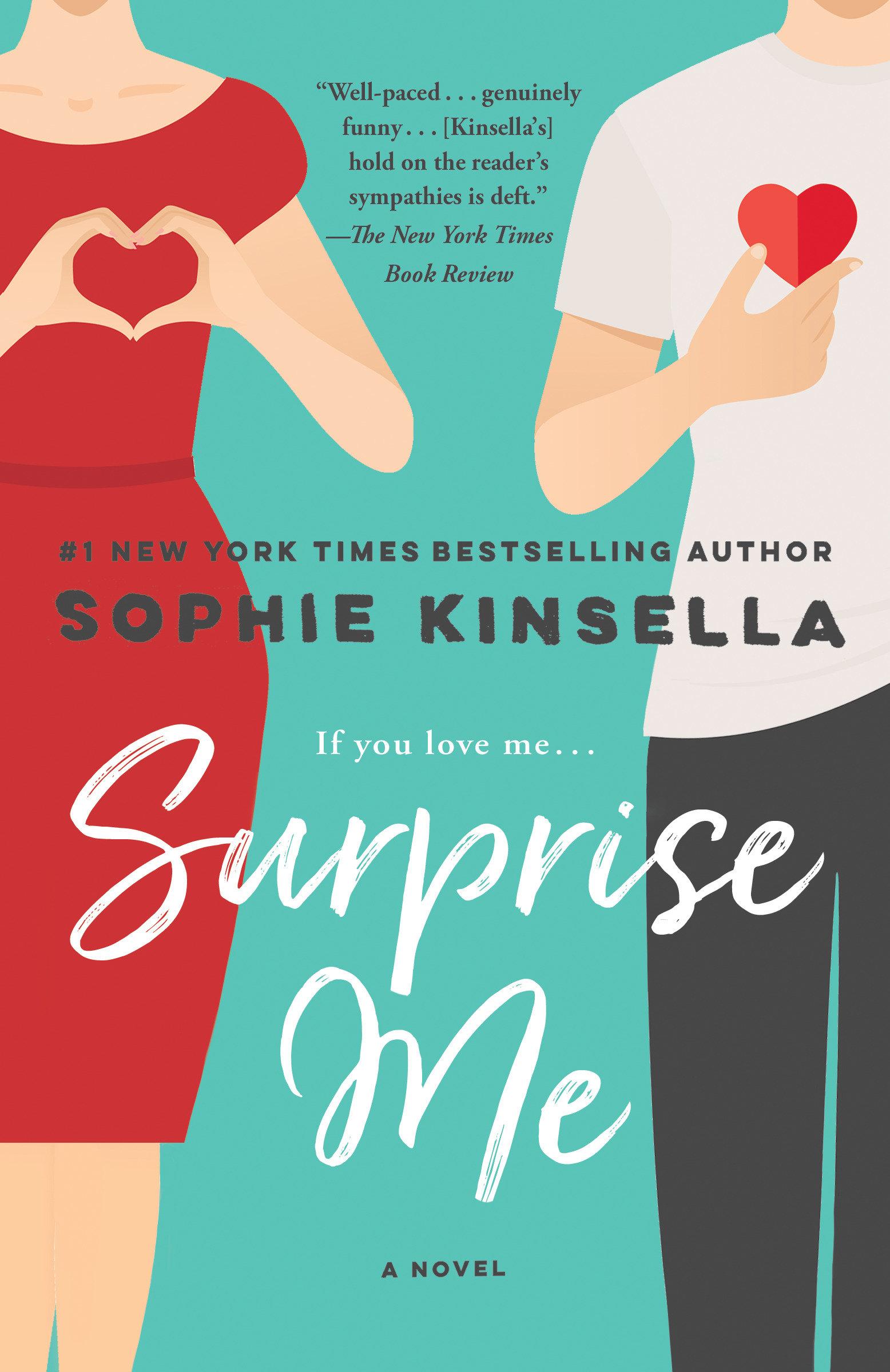 Surprise me a novel