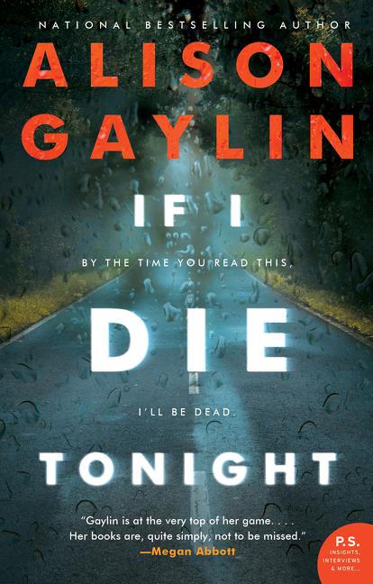 If I Die Tonight A Novel