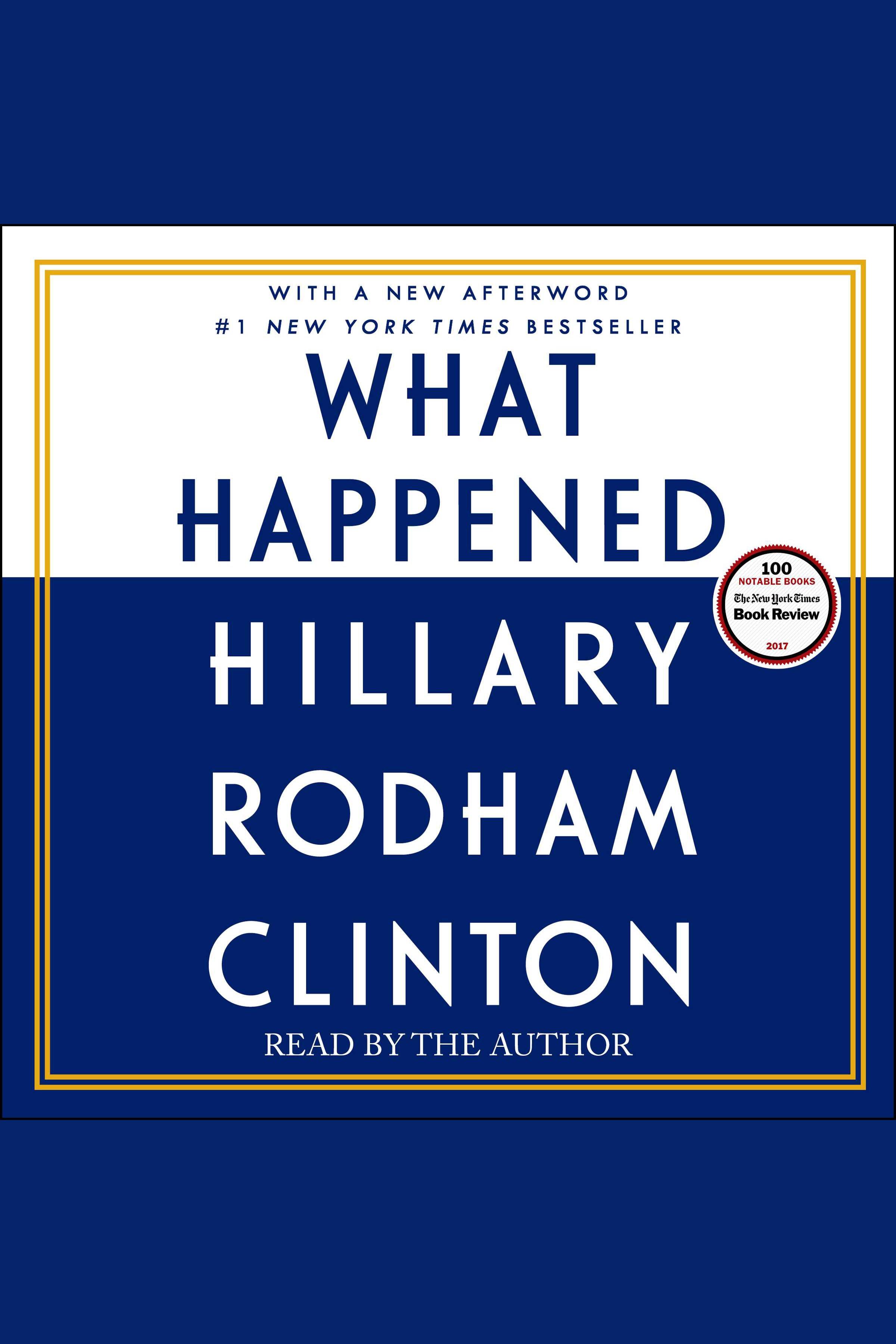 What happened [AudioEbook]