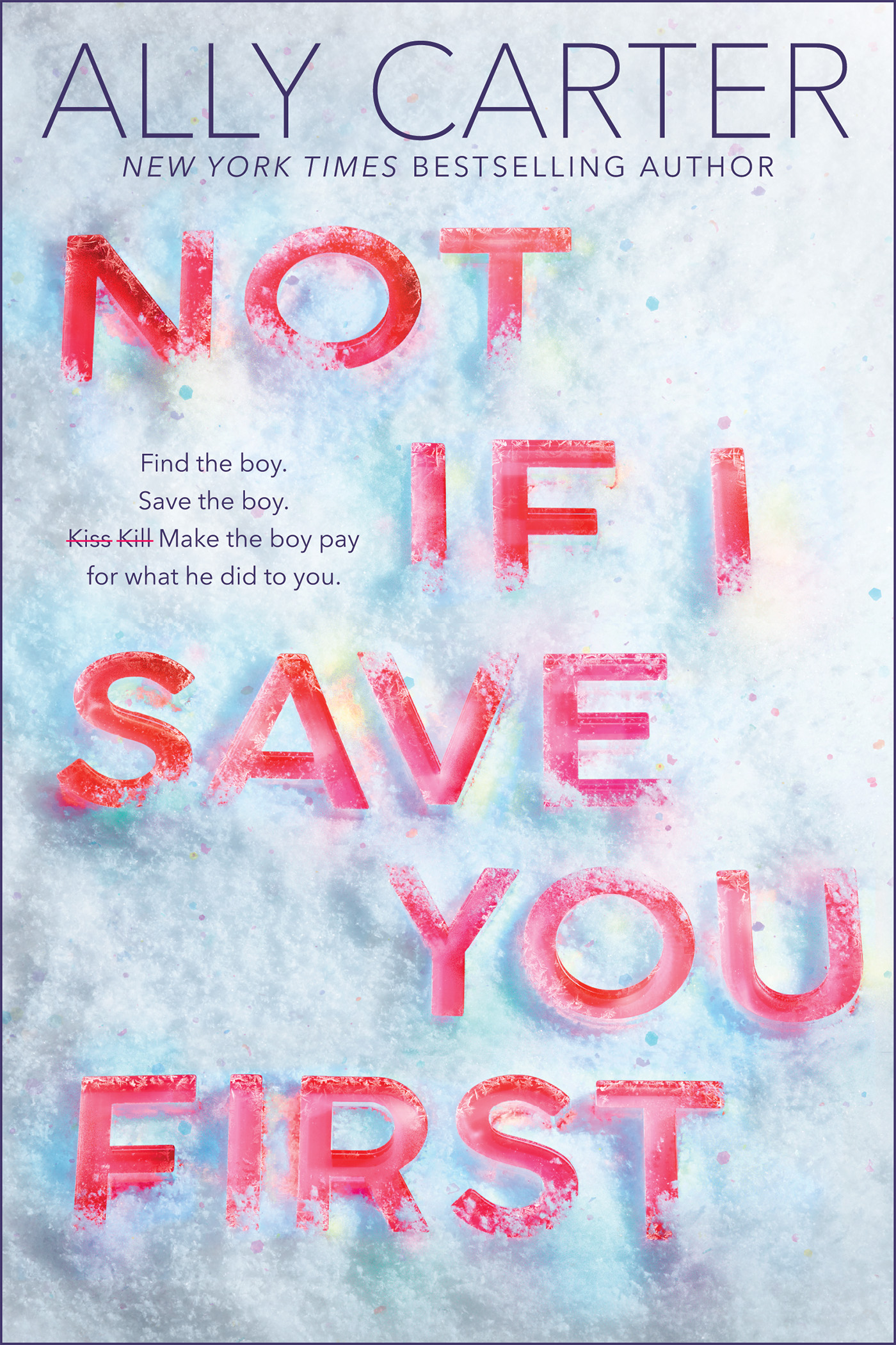 Cover image for Not If I Save You First [electronic resource] :
