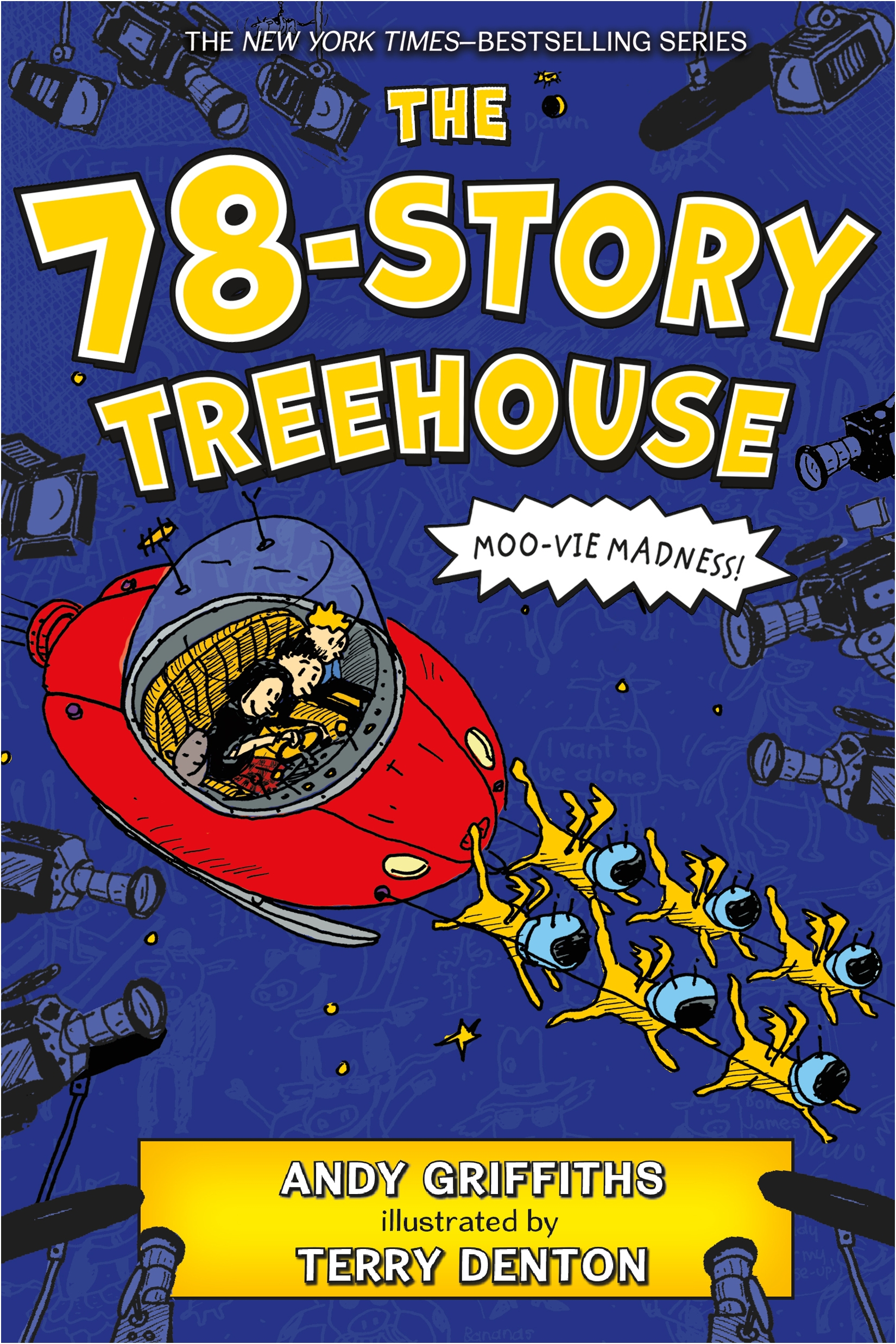 Cover image for The 78-Story Treehouse [electronic resource] :