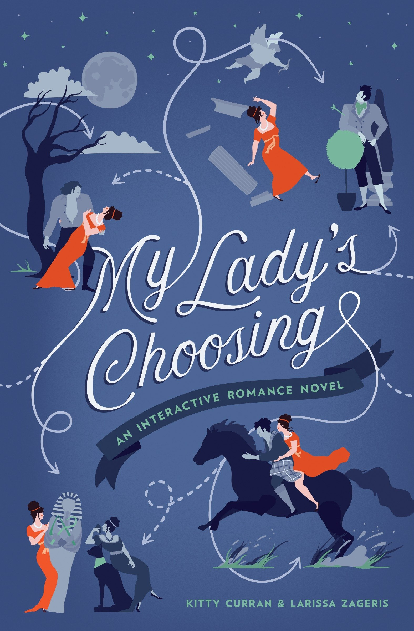 My Lady's Choosing An Interactive Romance Nove l