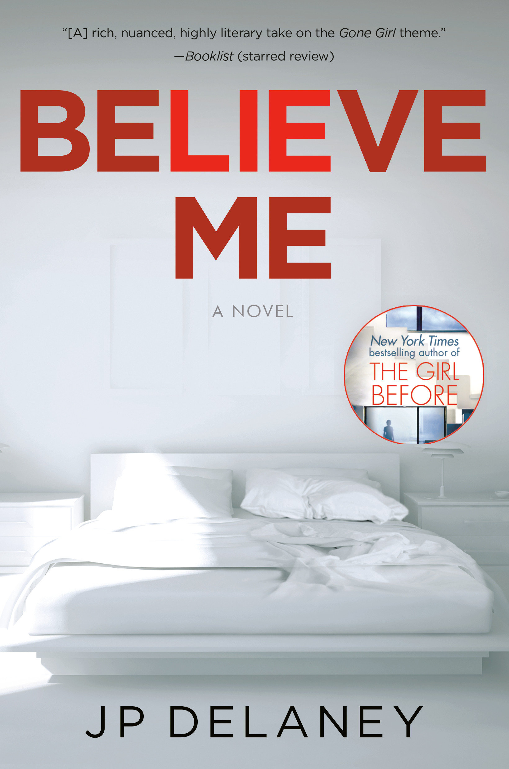 Believe Me A Novel