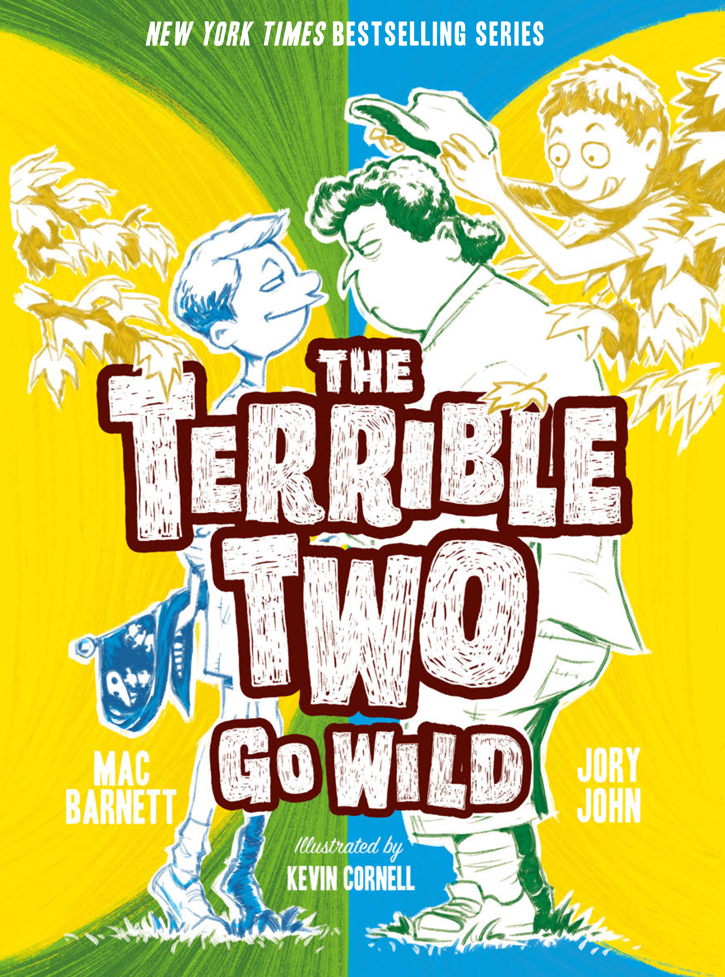 Cover image for The Terrible Two Go Wild [electronic resource] :
