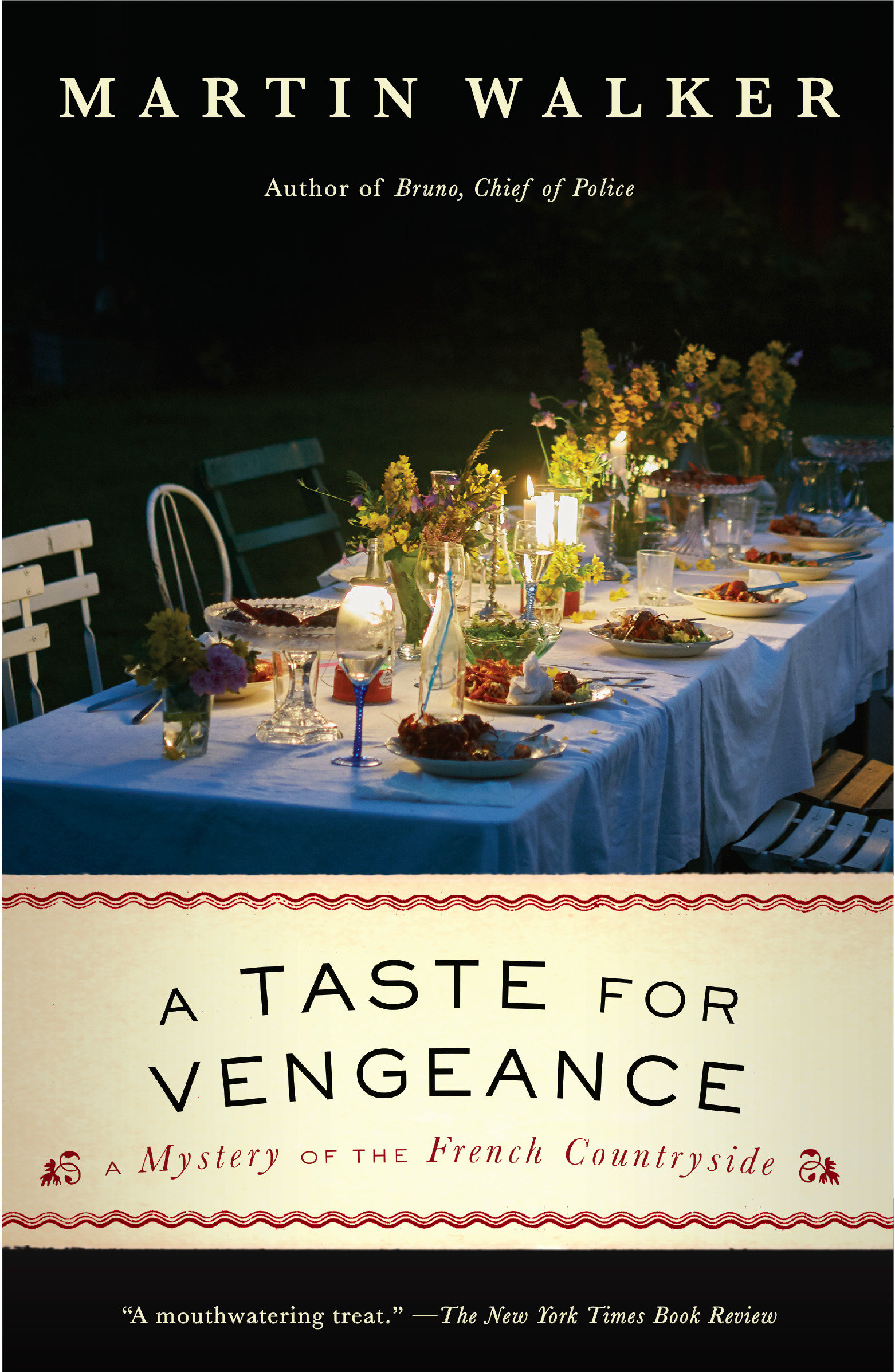 A Taste for Vengeance A Bruno, Chief of Police novel