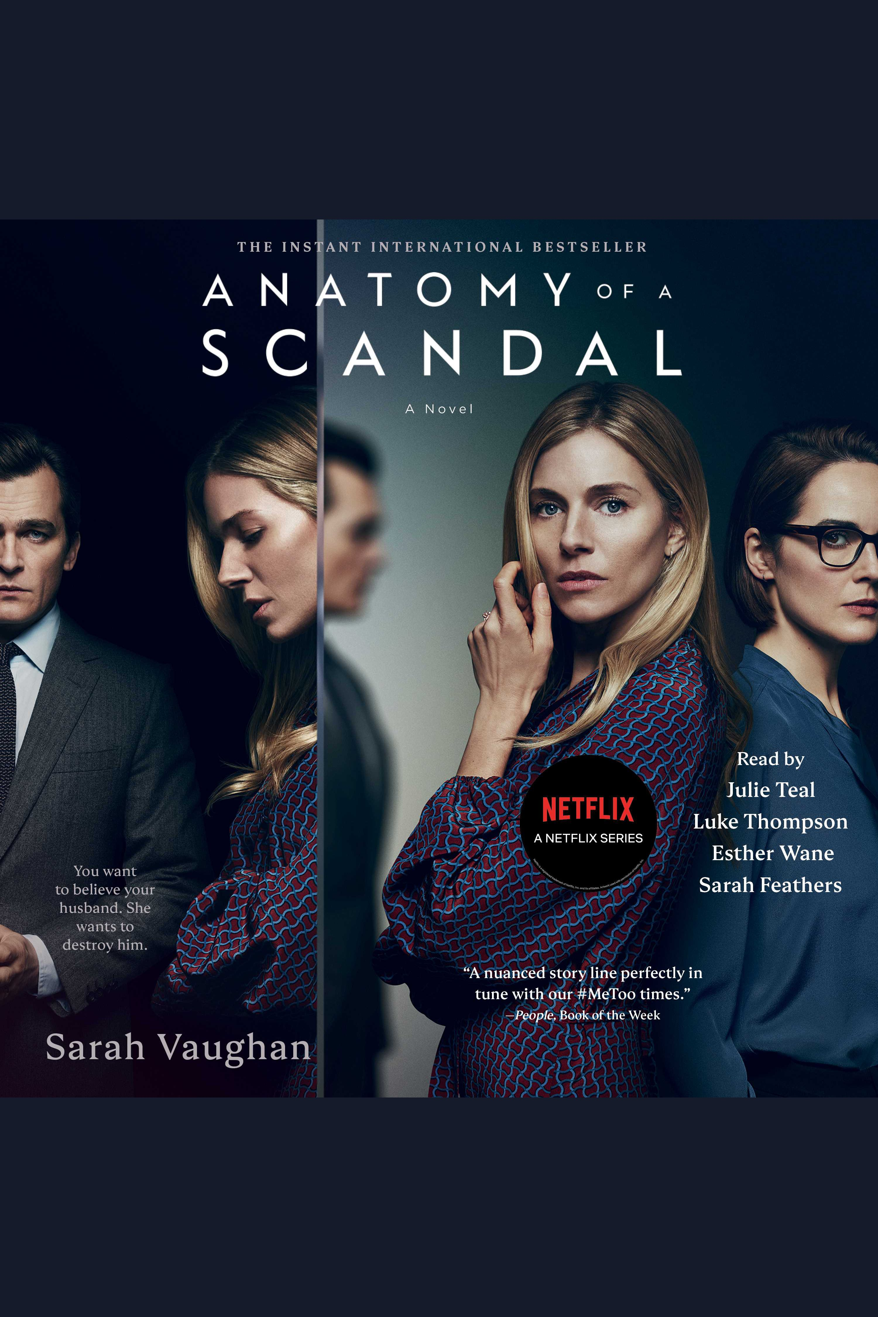 Ebooks eaudiobooks emagazines nesmith library anatomy of a scandal a novel fandeluxe Images