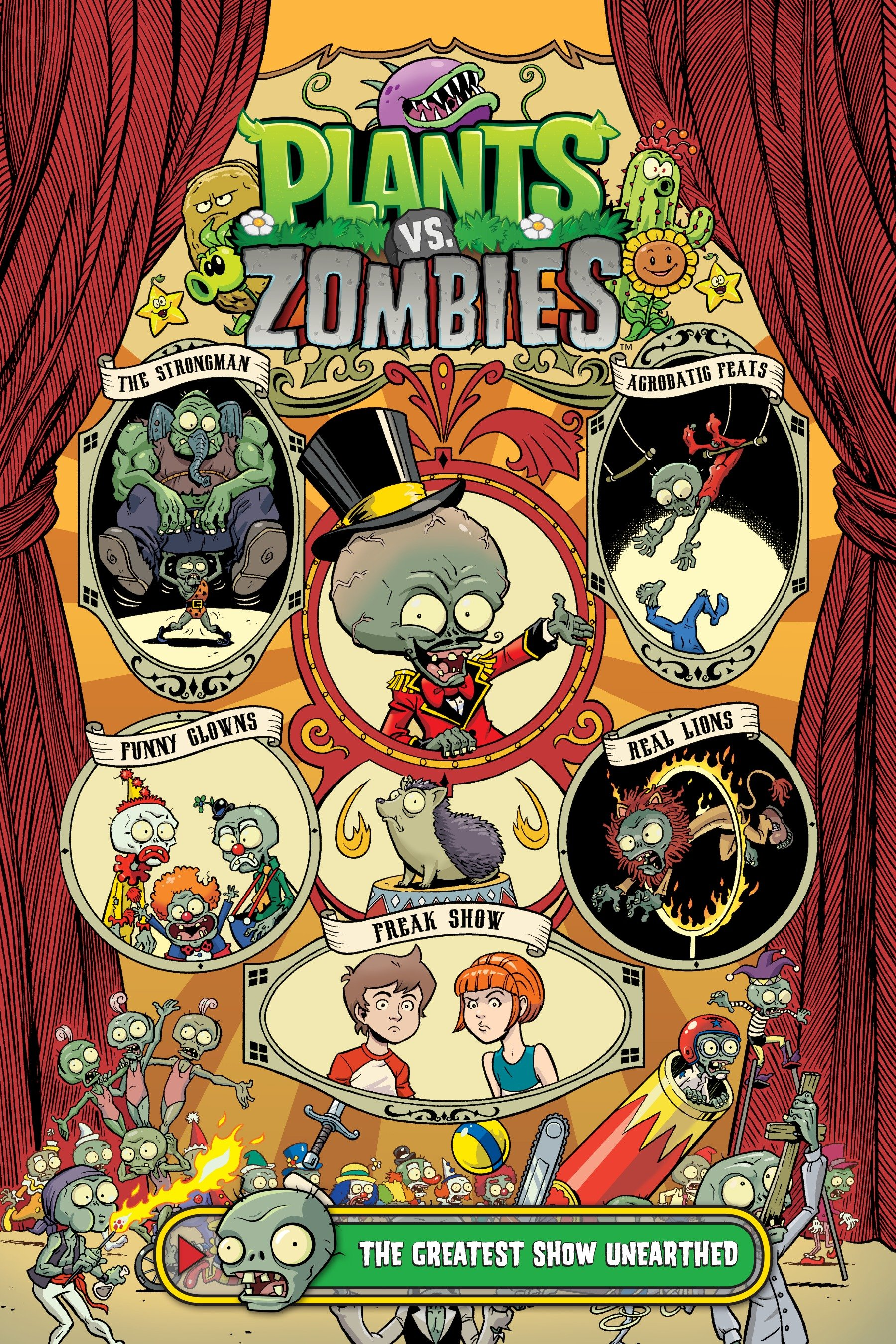 Cover image for Plants vs. Zombies Volume 9: The Greatest Show Unearthed [electronic resource] :
