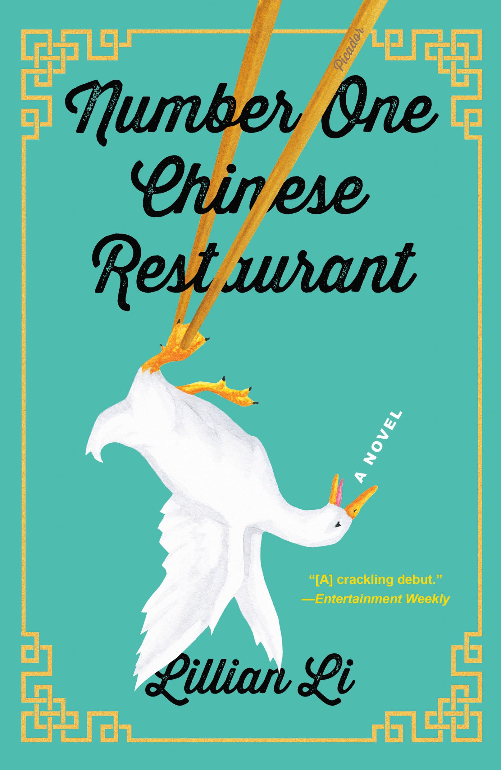 Number one Chinese restaurant a novel