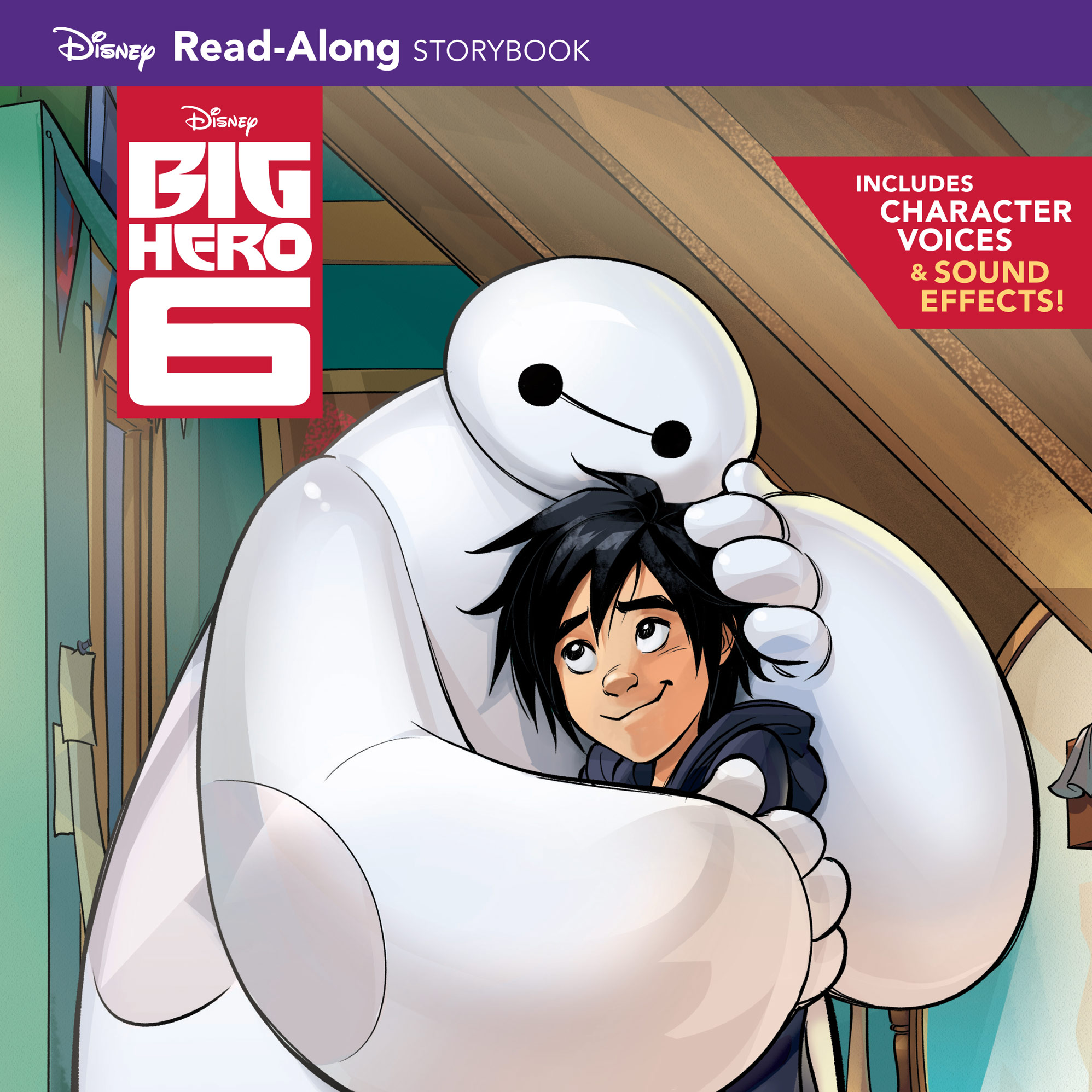 Big Hero 6 Read-Along Storybook