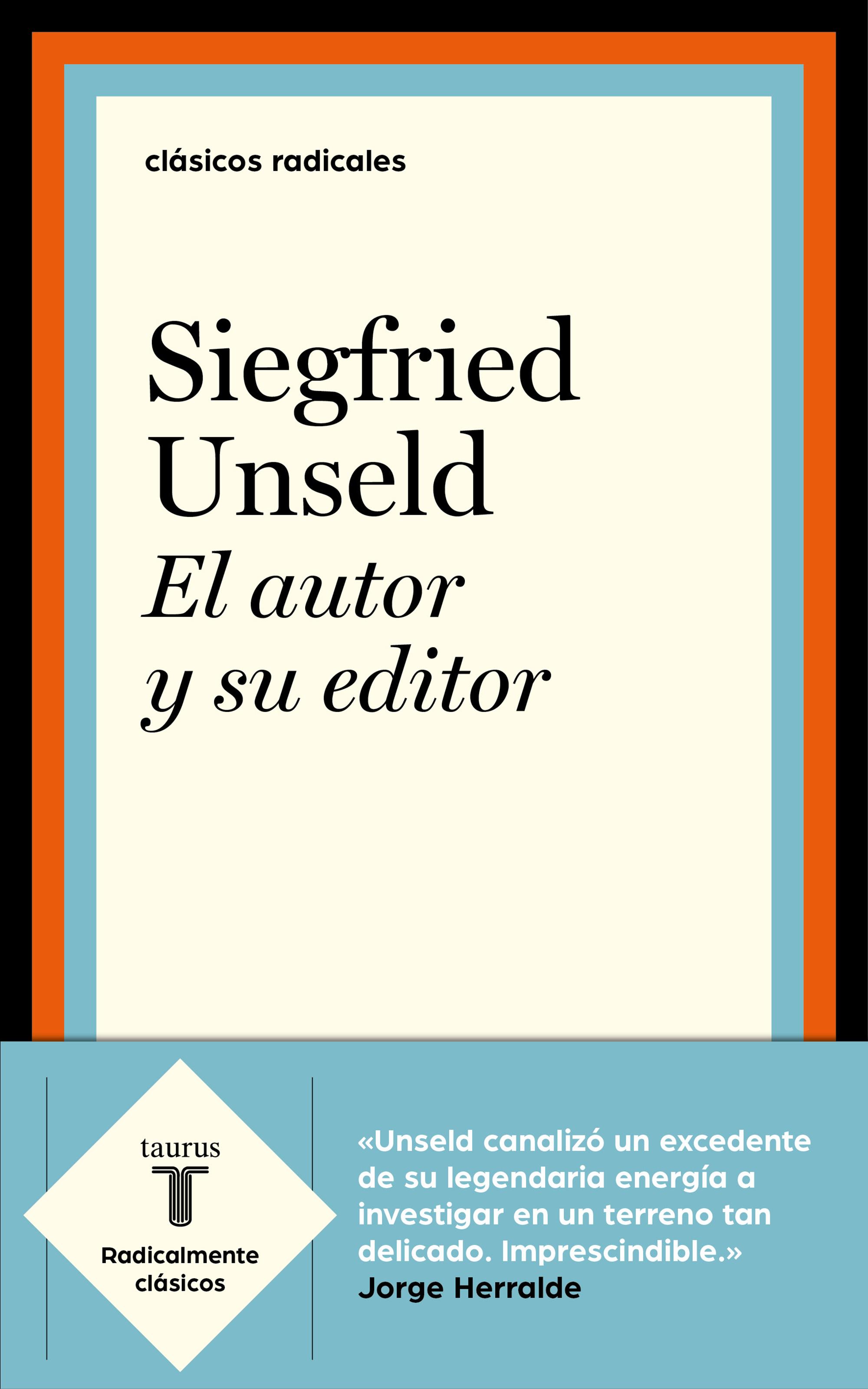El autor y su editor