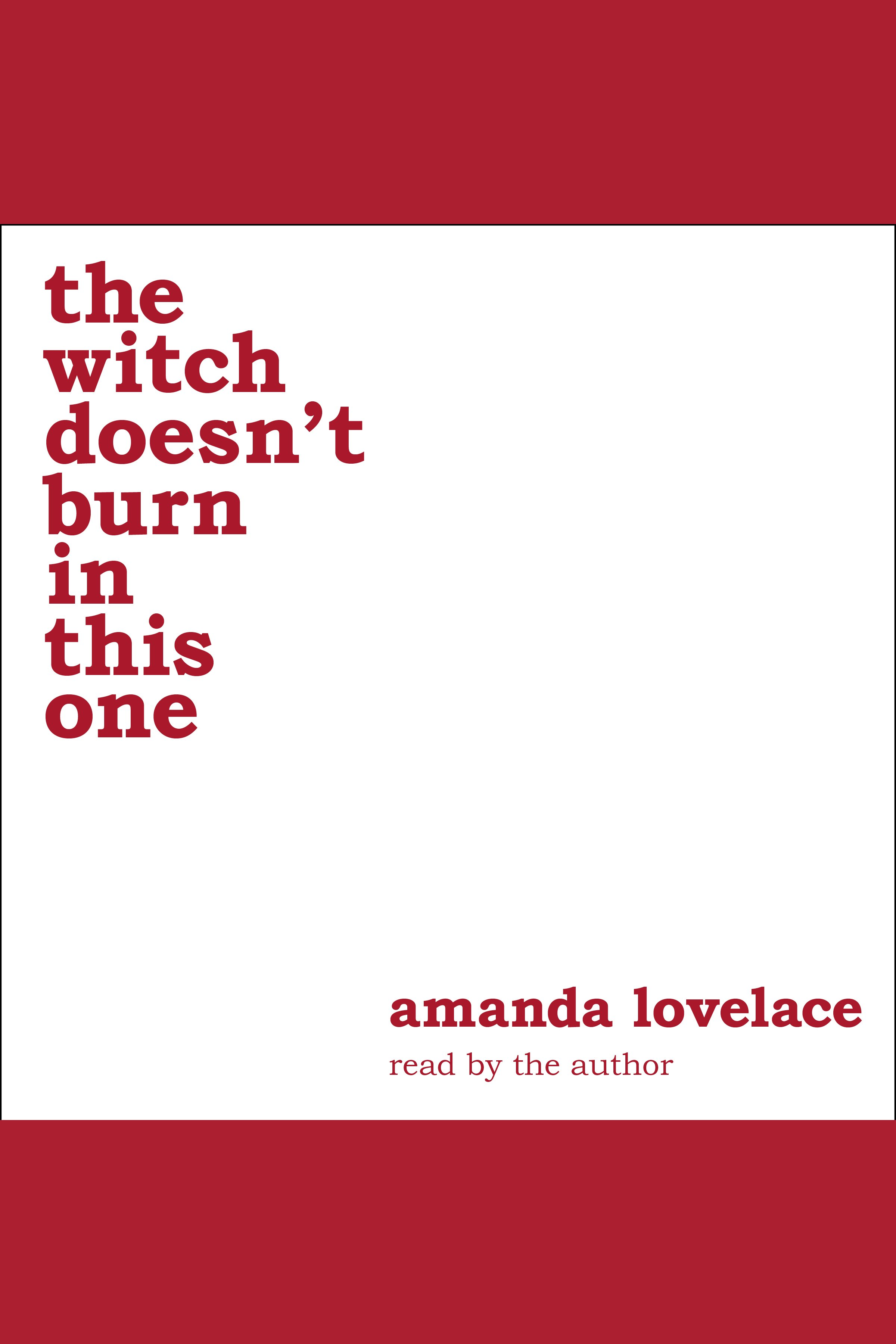 The witch doesn't burn in this one [AudioEbook]
