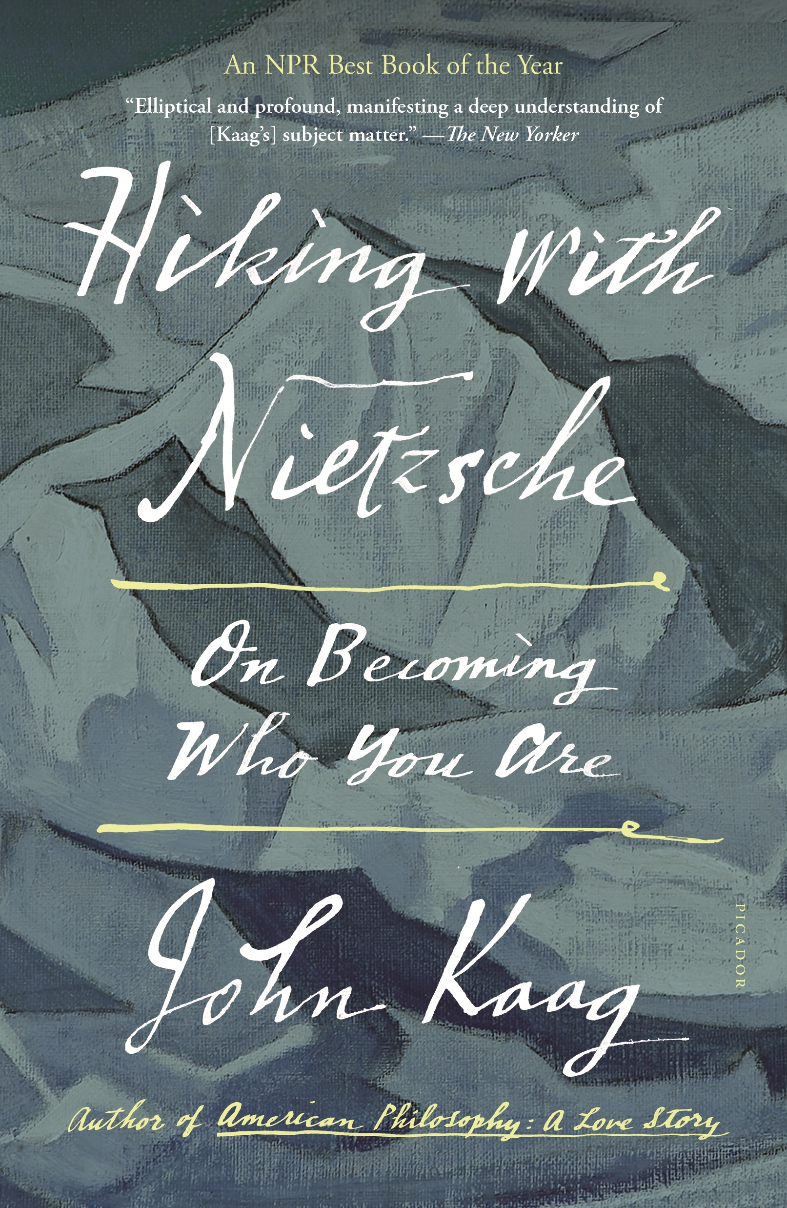 Cover image for Hiking with Nietzsche [electronic resource] : On Becoming Who You Are