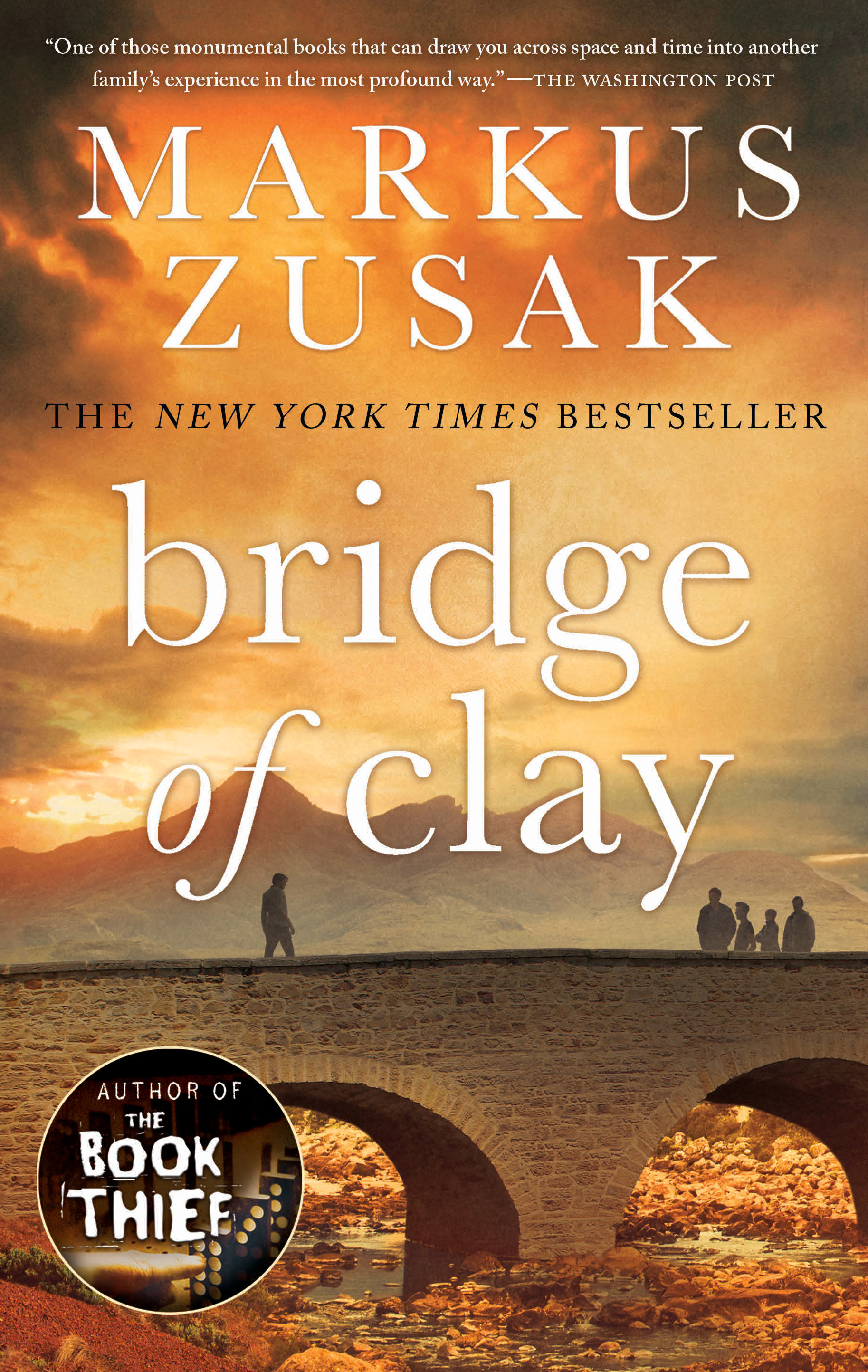 Cover image for Bridge of Clay [electronic resource] :