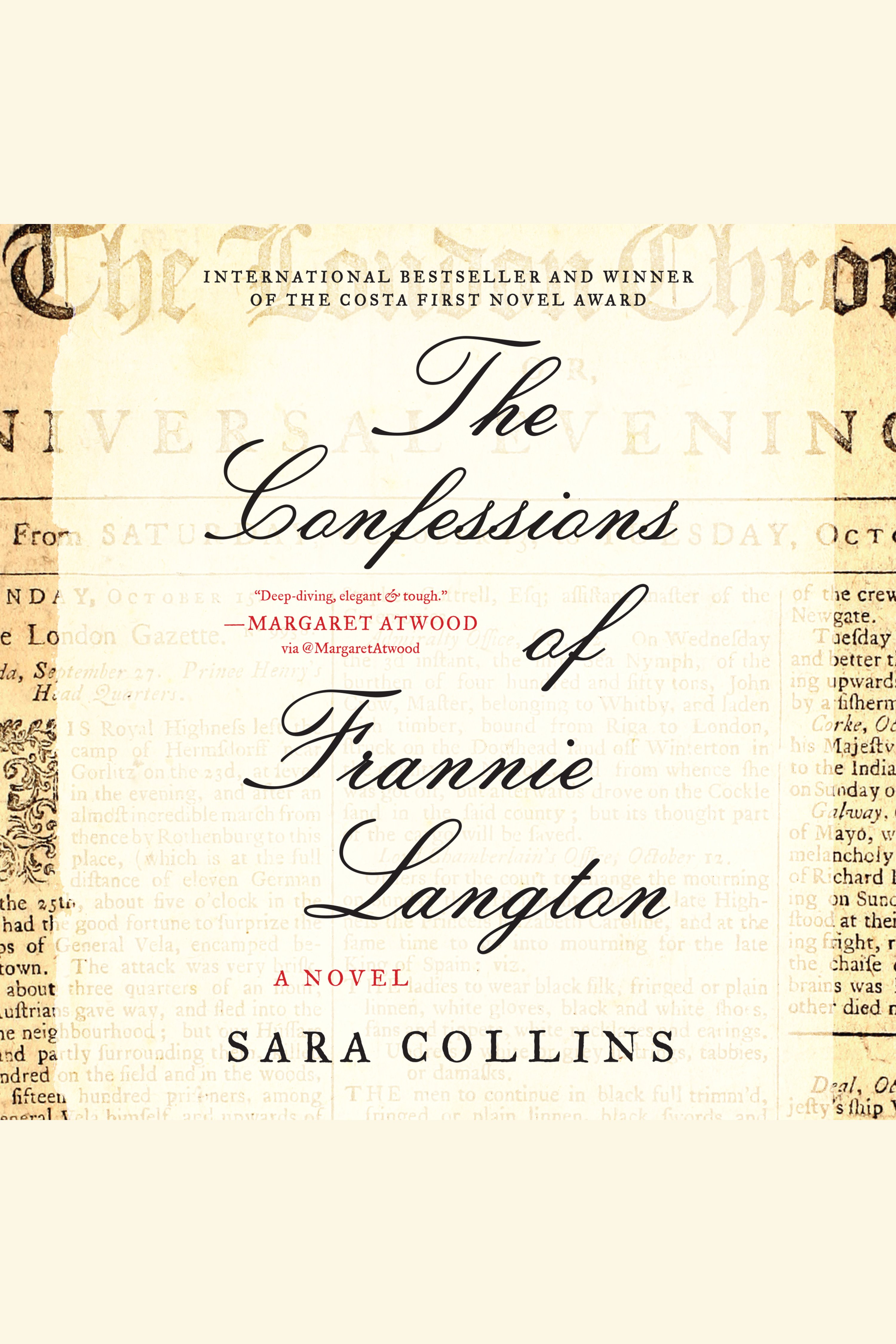 Confessions of Frannie Langton, The A Novel