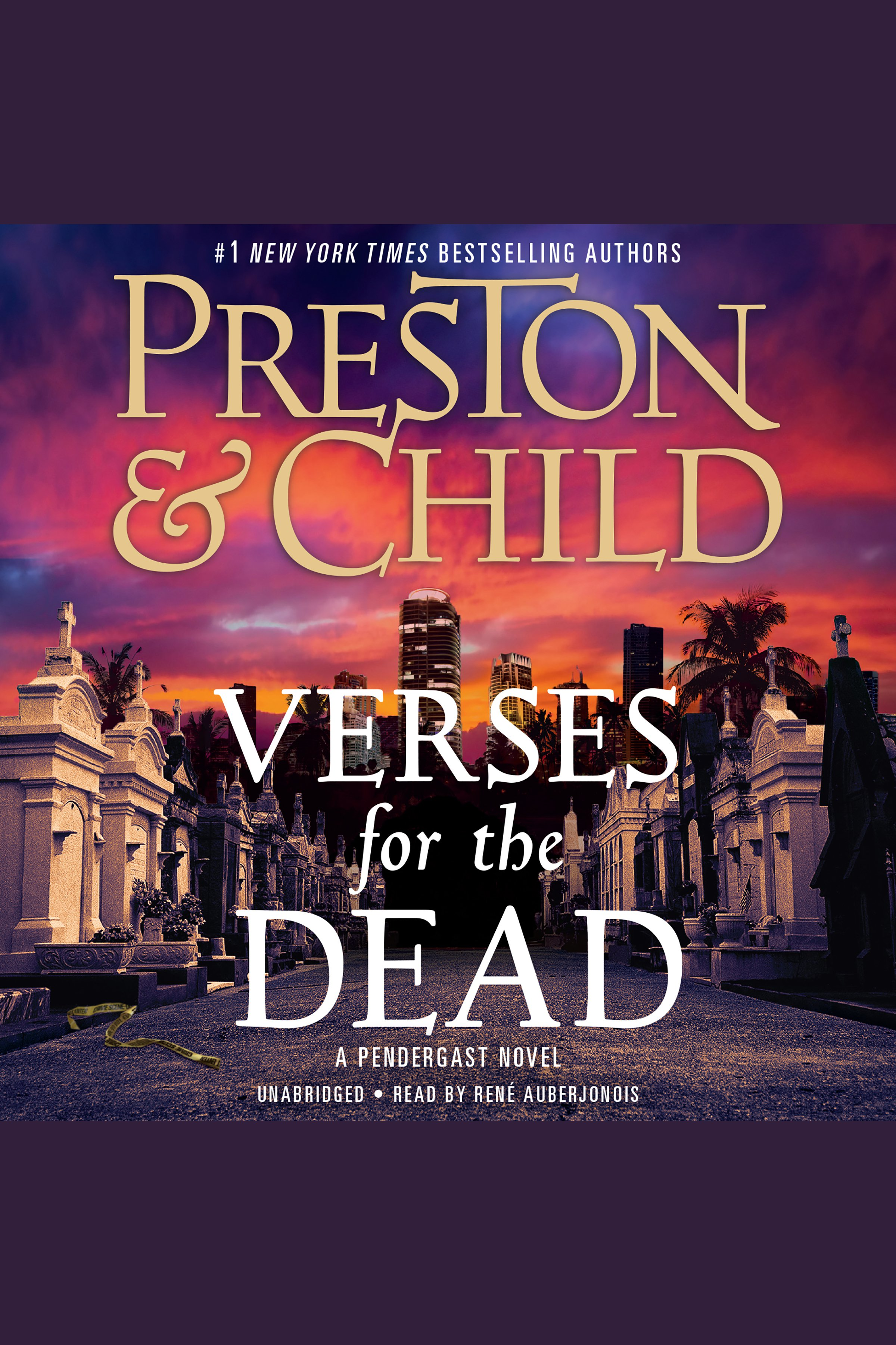 Verses for the Dead A Pendergast Novel