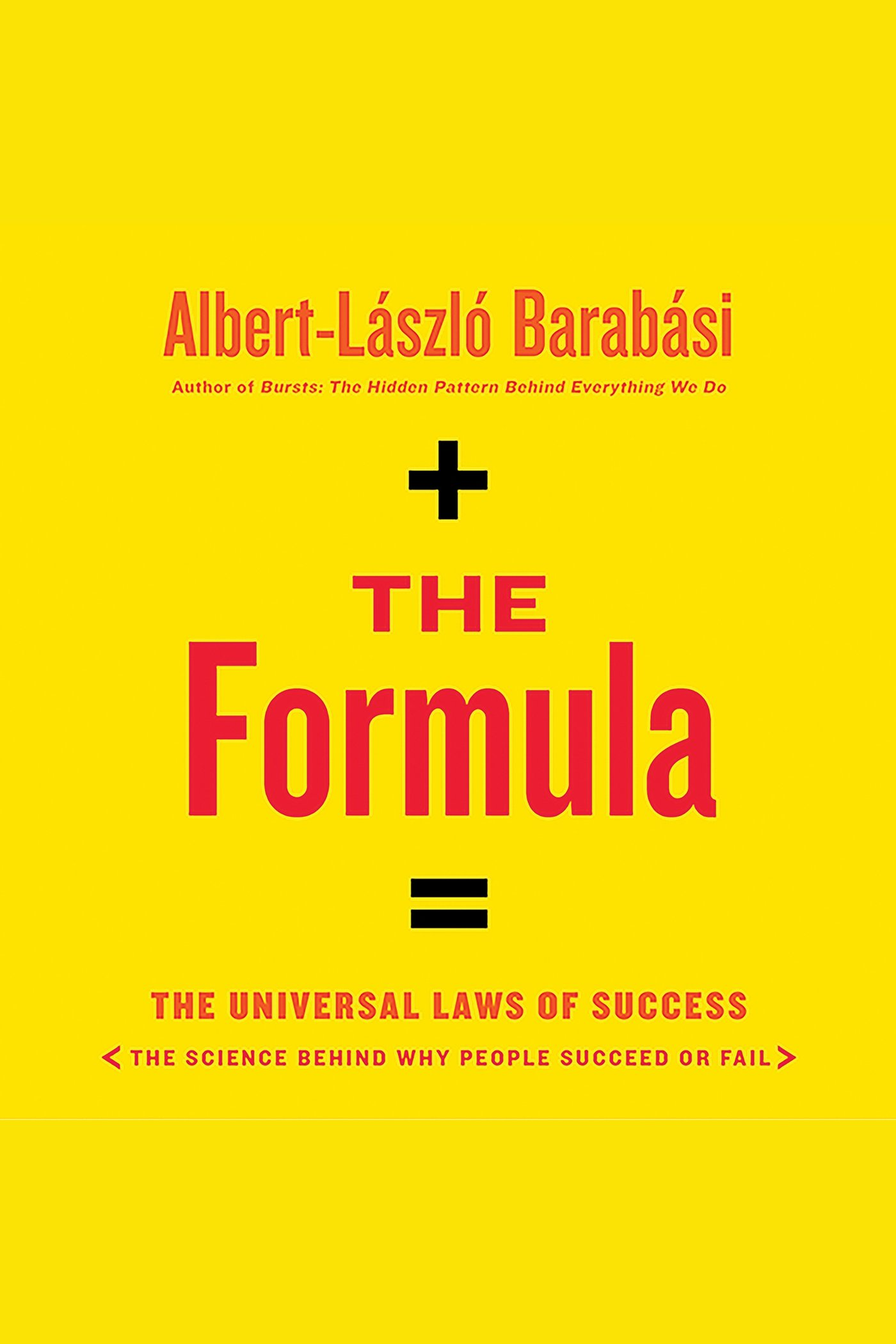 Formula, The The Universal Laws of Success