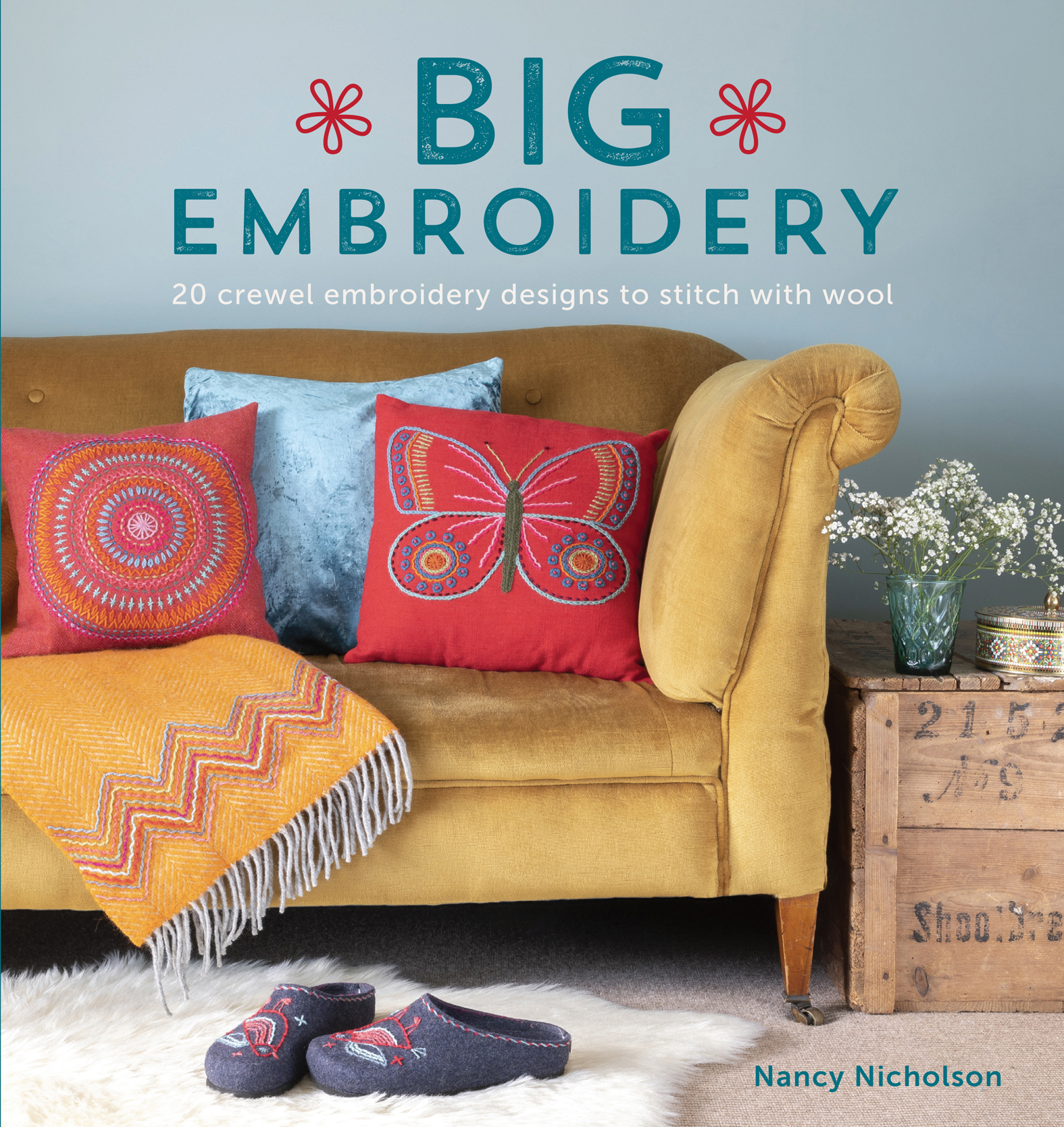 Big Embroidery 20 Crewel Embroidery Designs to Stitch with Wool