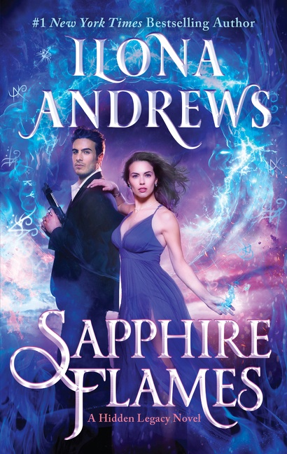 Sapphire flames [electronic resource (downloadable eBook)] : a hidden lLegacy novel